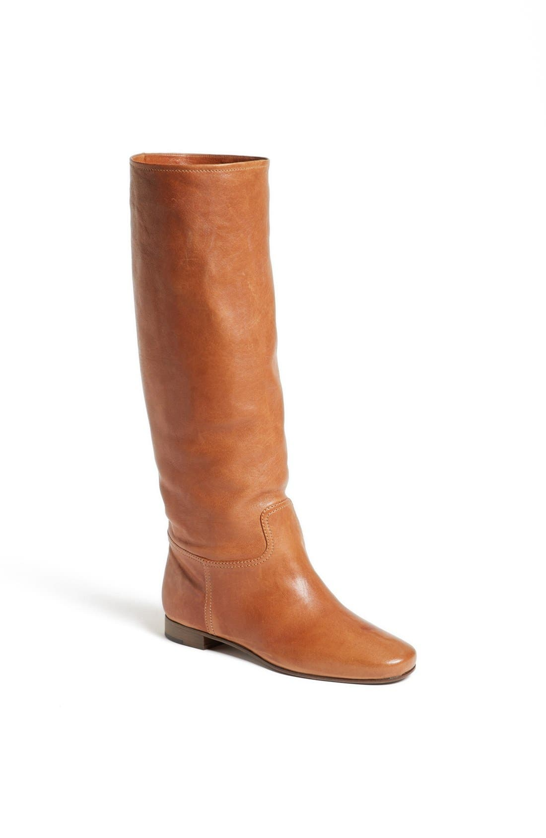 Main Image - Prada Scrunchy Tall Flat Boot