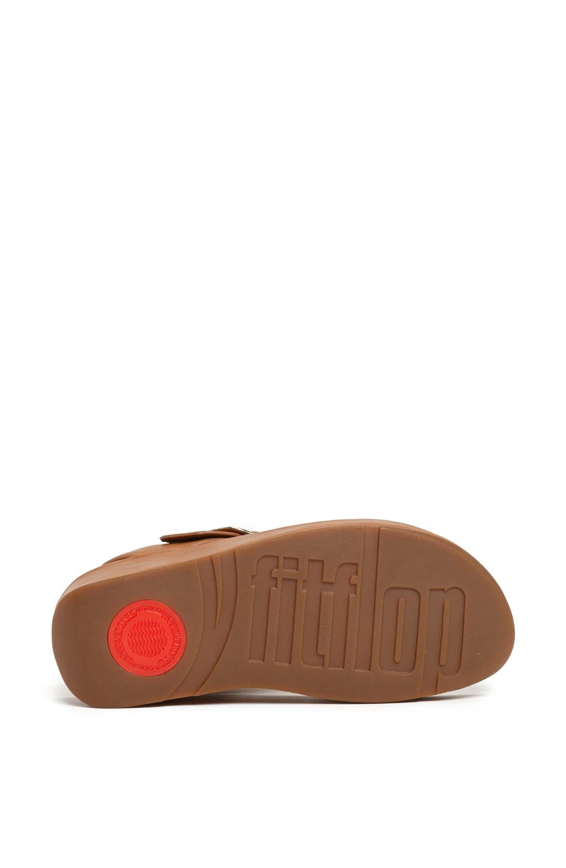 Alternate Image 4  - FitFlop 'Tia™' Leather Sandal