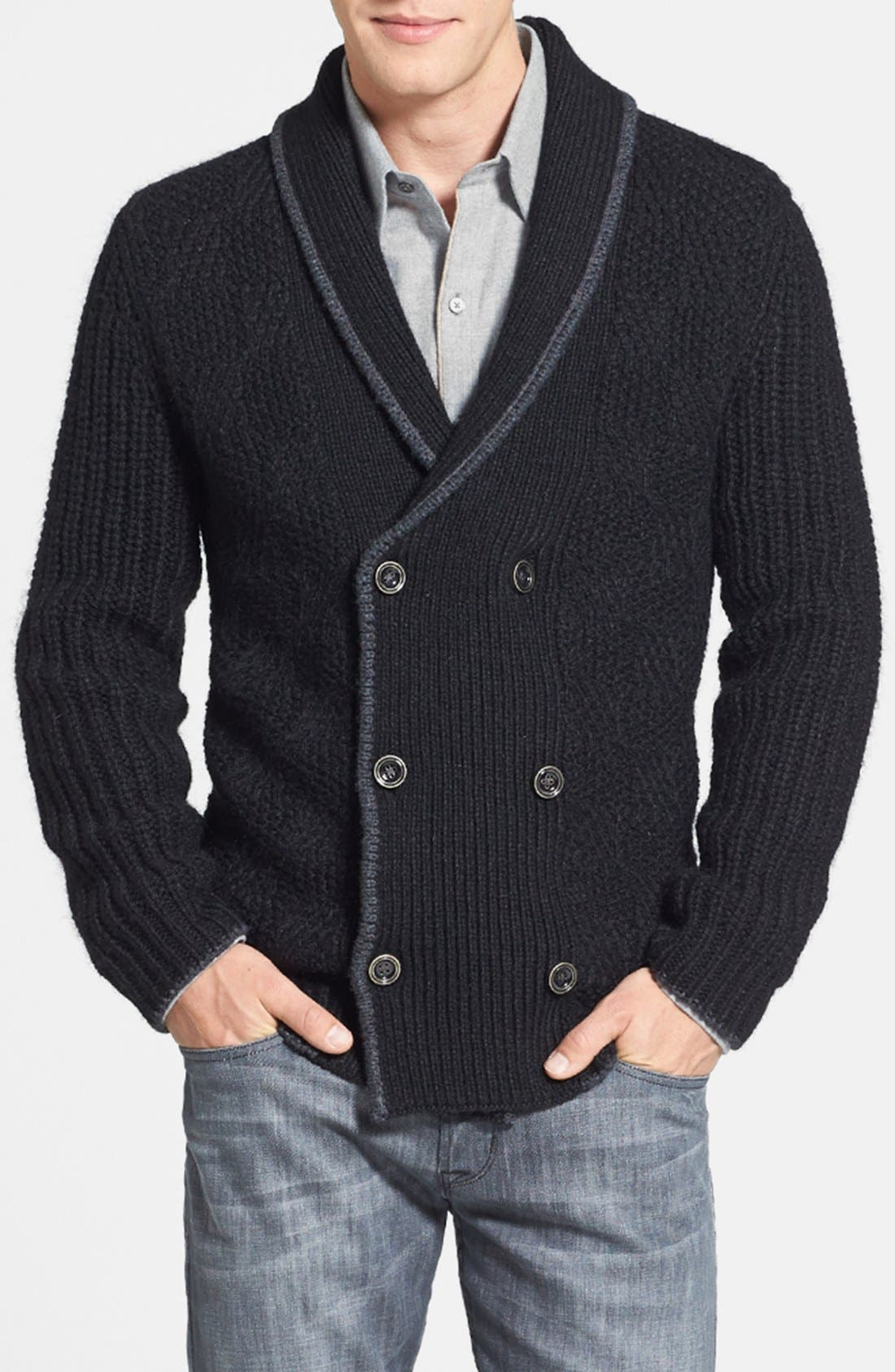Alternate Image 1 Selected - Tommy Bahama 'Hudson Square' Regular Fit Cardigan