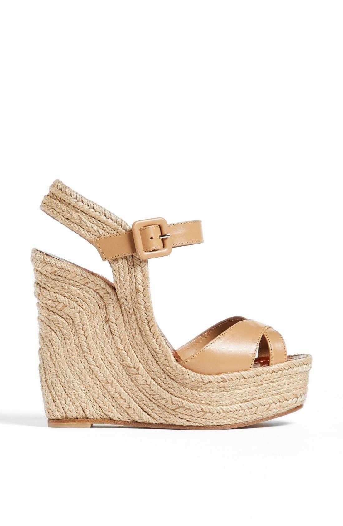 Alternate Image 4  - Valentino 'St. Tropez' Espadrille Wedge Sandal
