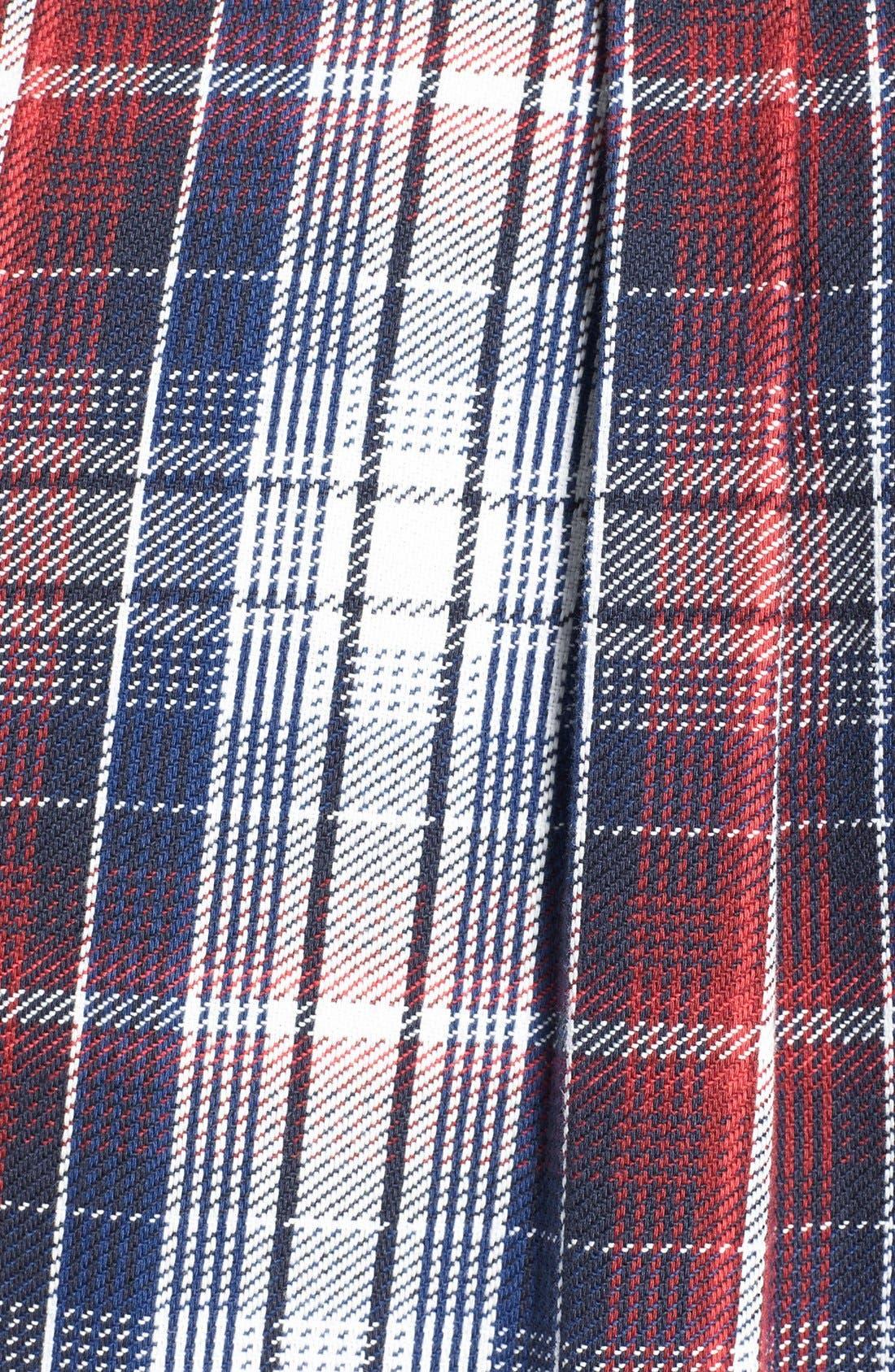 Alternate Image 3  - Lacoste L!VE Plaid Twill Shirt