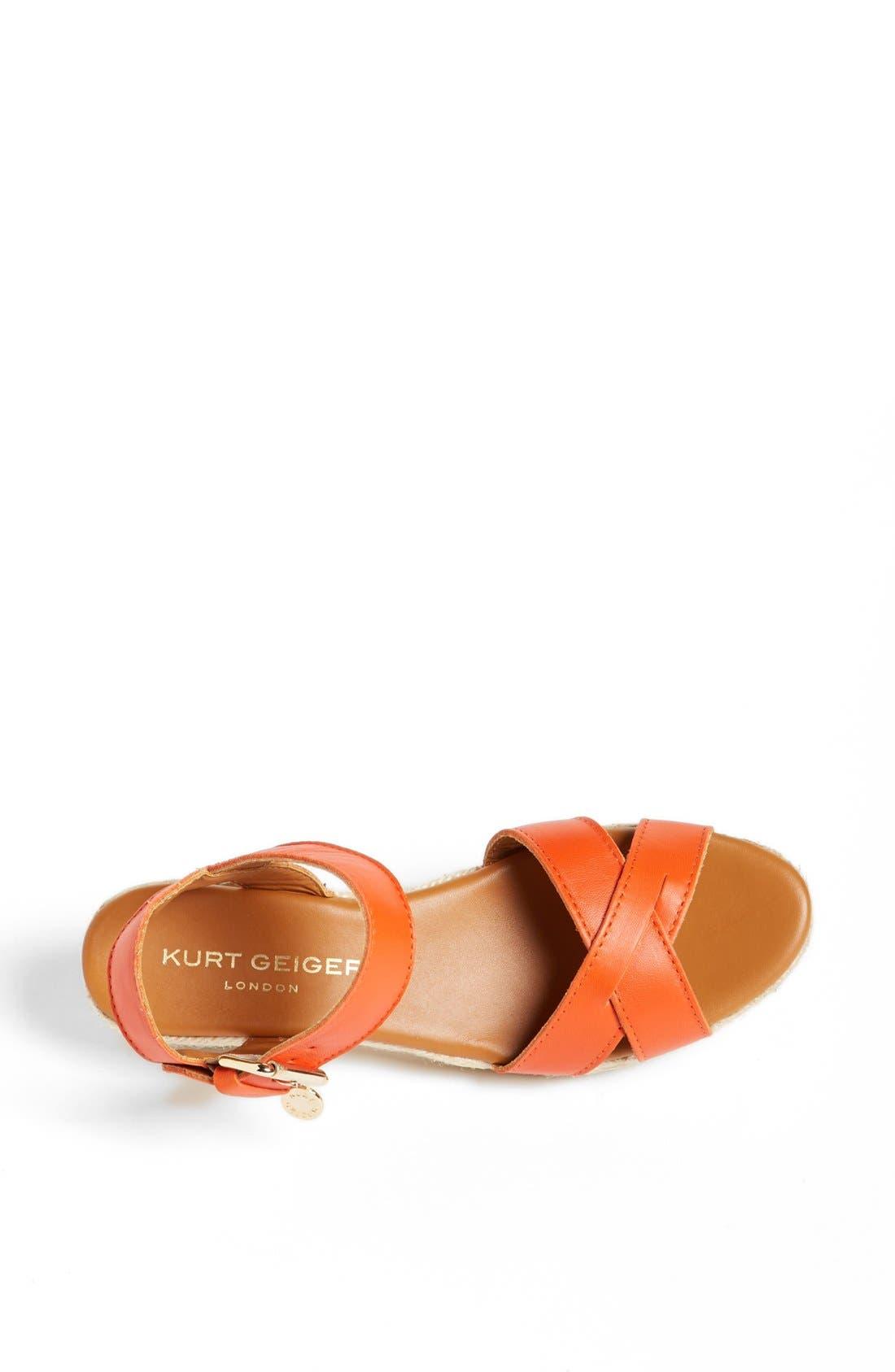 Alternate Image 3  - Kurt Geiger London 'Libby' Leather Sandal