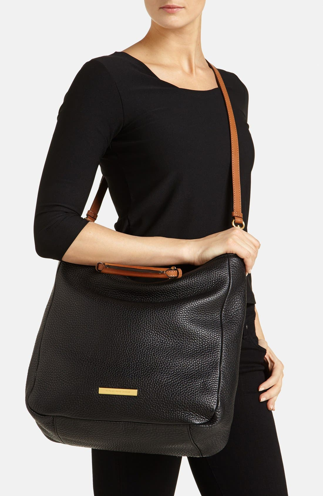 Alternate Image 2  - MARC BY MARC JACOBS 'Softy Saddle' Leather Tote