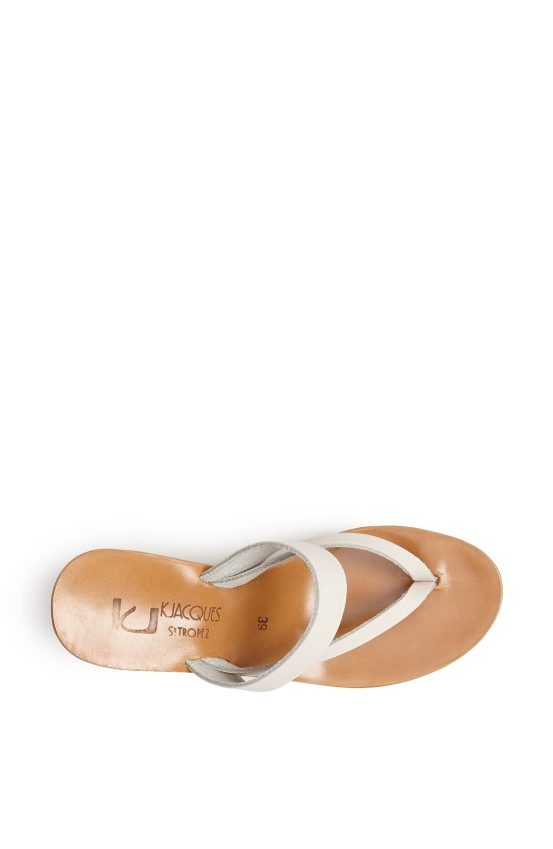 Alternate Image 4  - K.Jacques St. Tropez 'Saturnine' Cork Wedge Sandal