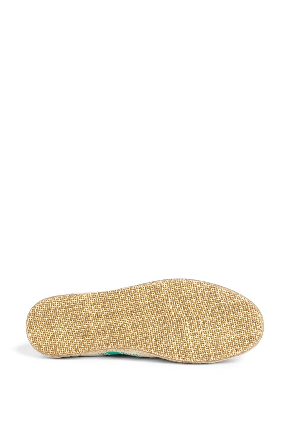Alternate Image 4  - TOMS 'Classics - Umbrella Stripe' Slip-On (Women)