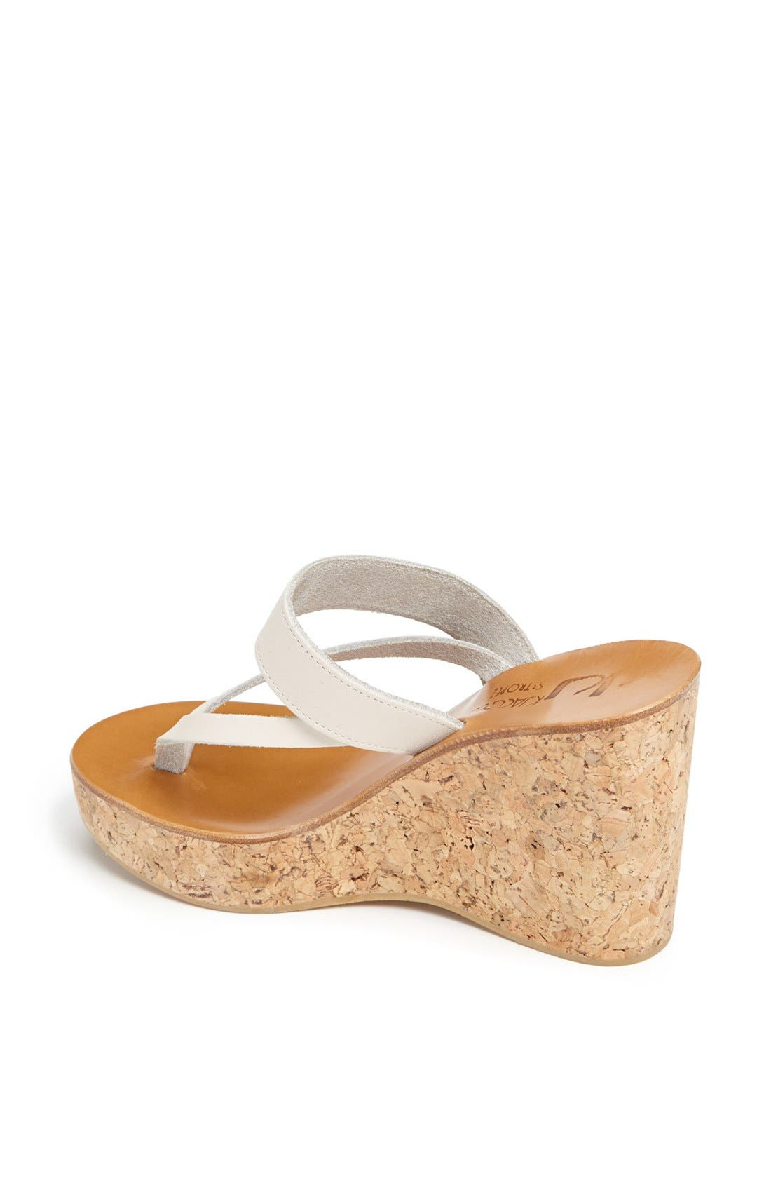 Alternate Image 2  - K.Jacques St. Tropez 'Saturnine' Cork Wedge Sandal
