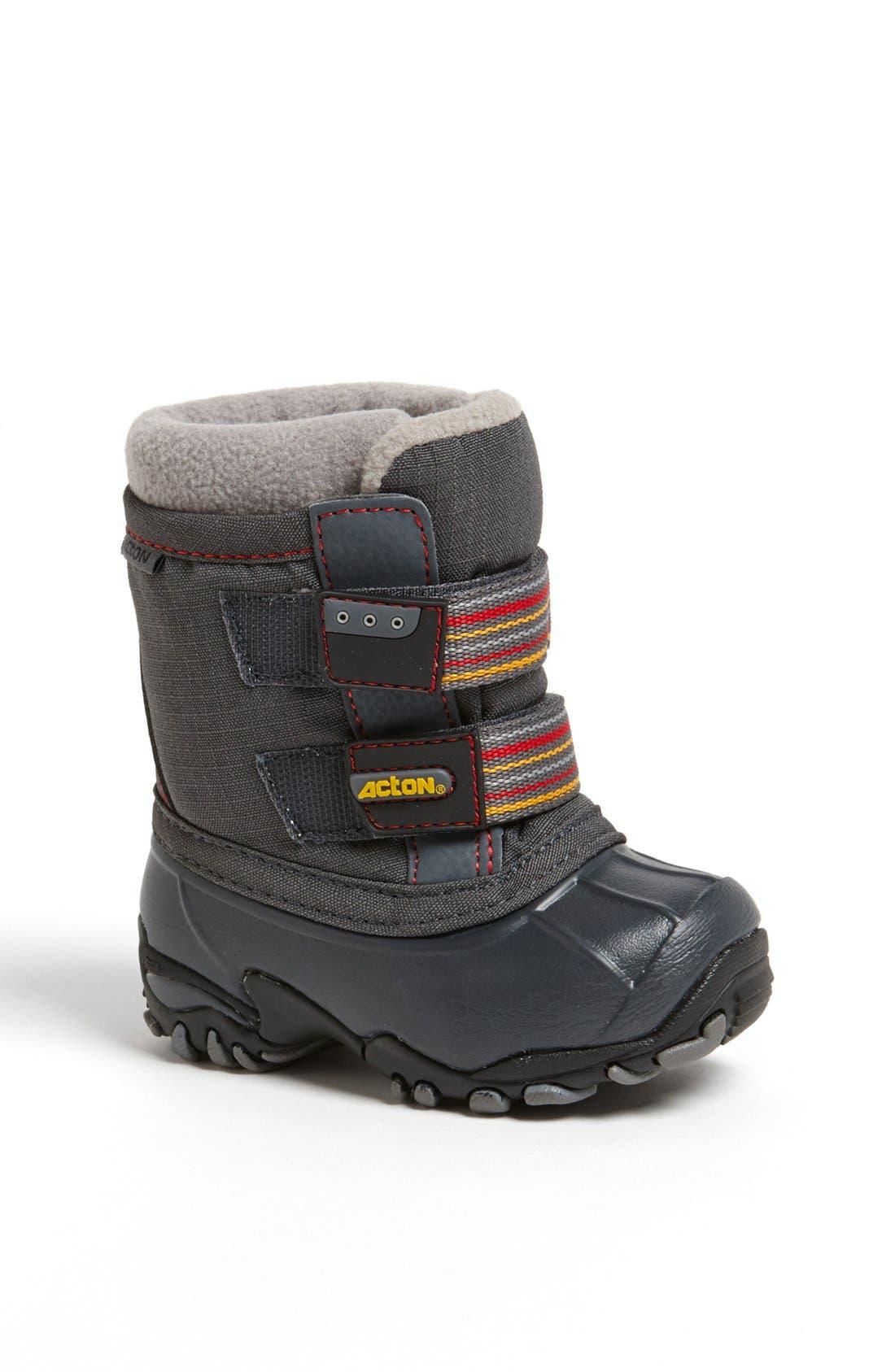 Alternate Image 1 Selected - Acton 'Lullaby' Waterproof Winter Boot (Walker & Toddler)