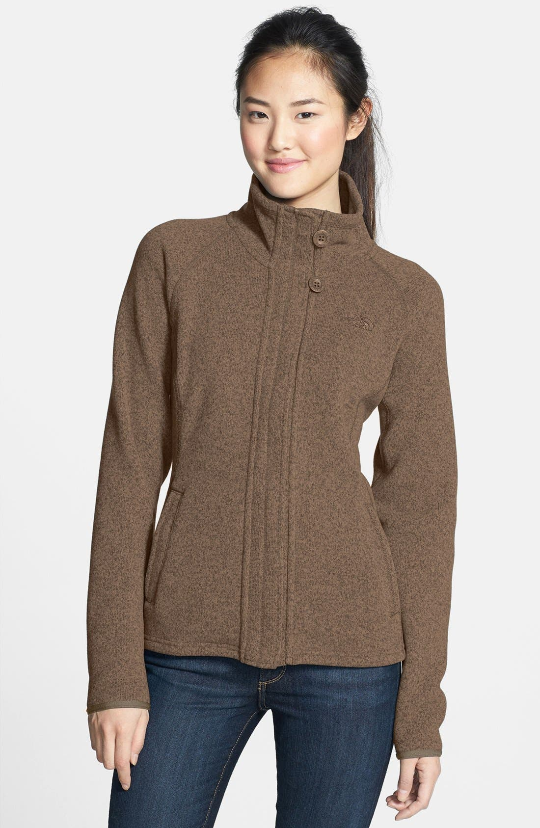 Alternate Image 1 Selected - The North Face 'Crescent' Full Zip Jacket