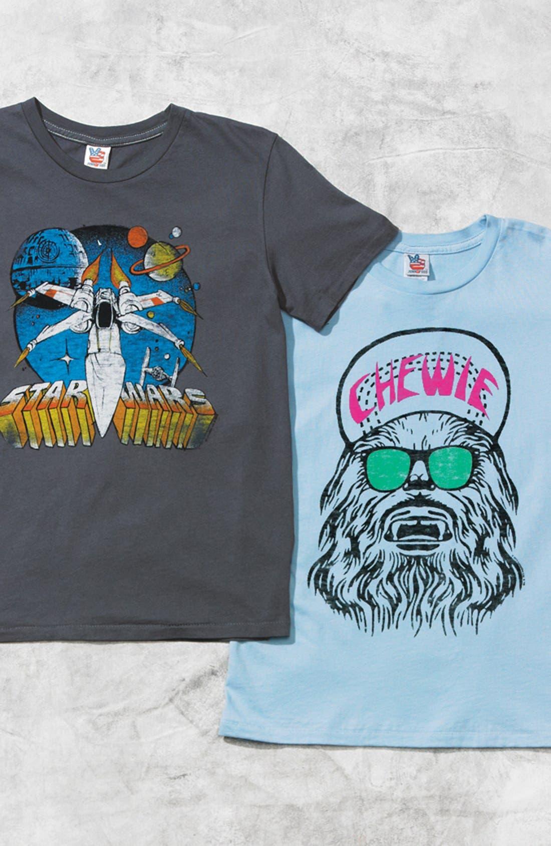 Alternate Image 2  - Junk Food 'Star Wars™' T-Shirt (Little Boys & Big Boys)
