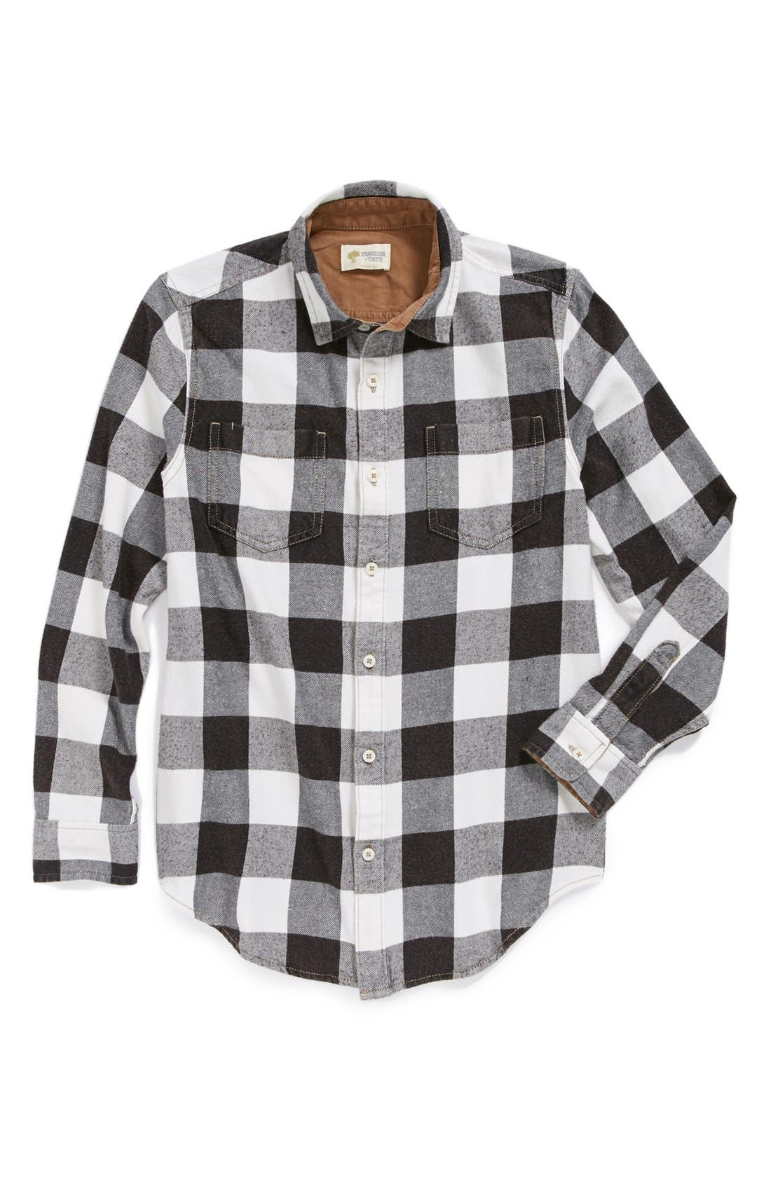Alternate Image 1 Selected - Tucker + Tate 'Erland' Flannel Shirt (Big Boys)