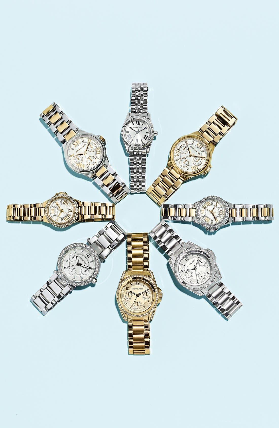 Alternate Image 5  - Michael Kors 'Mini Blair' Multifunction Watch, 33mm