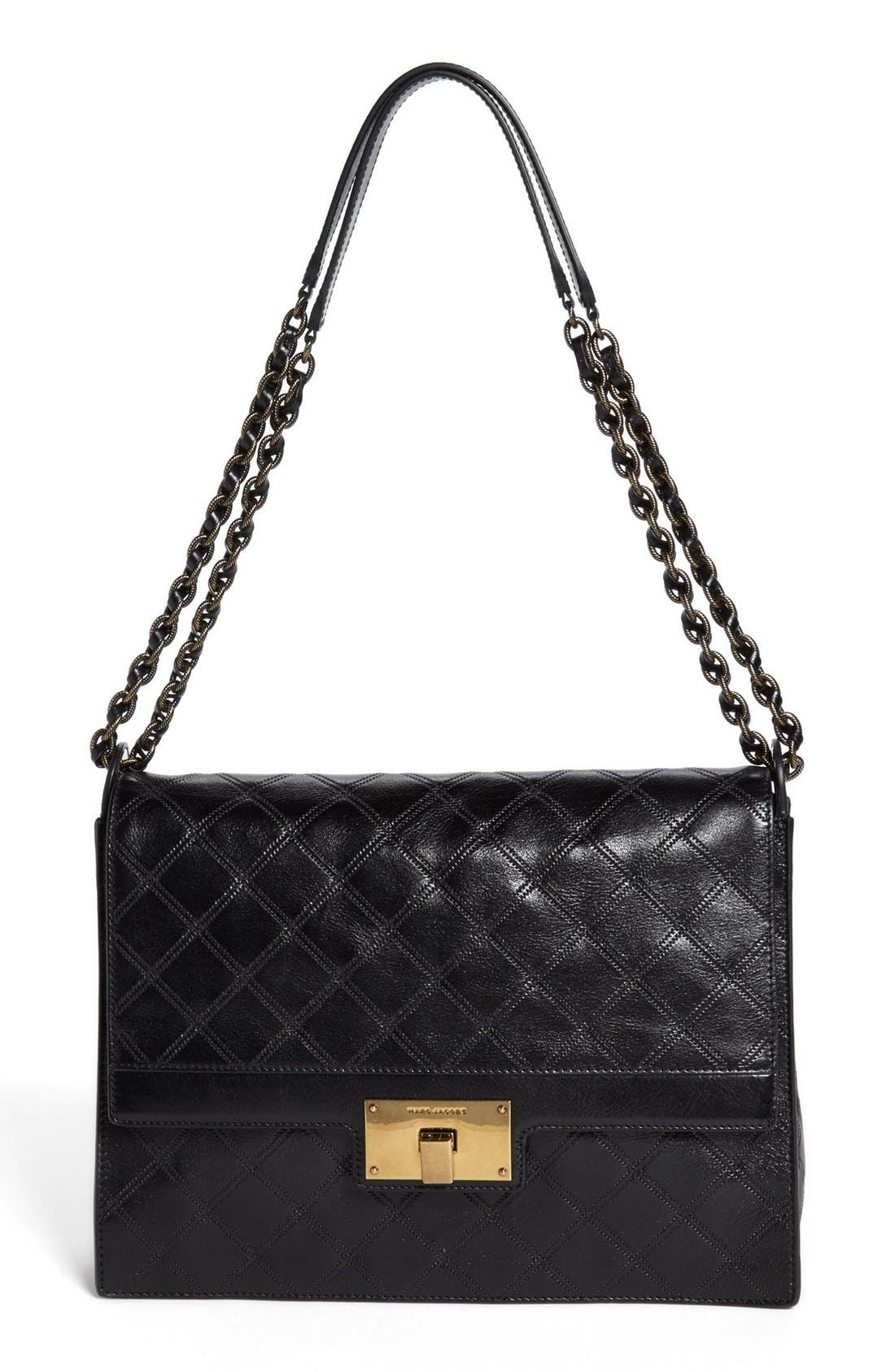 Main Image - MARC JACOBS 'The Lads' Leather Shoulder Bag