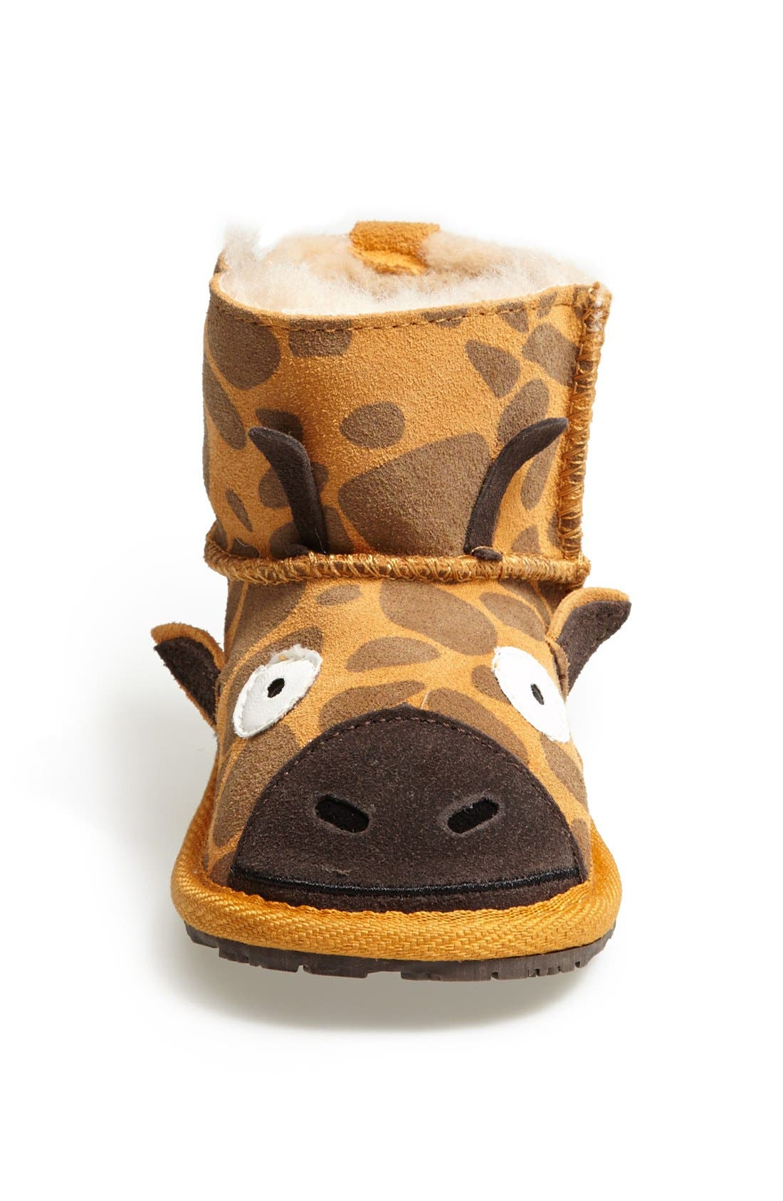 Alternate Image 3  - EMU Australia 'Little Creatures - Giraffe' Boot (Baby & Walker)