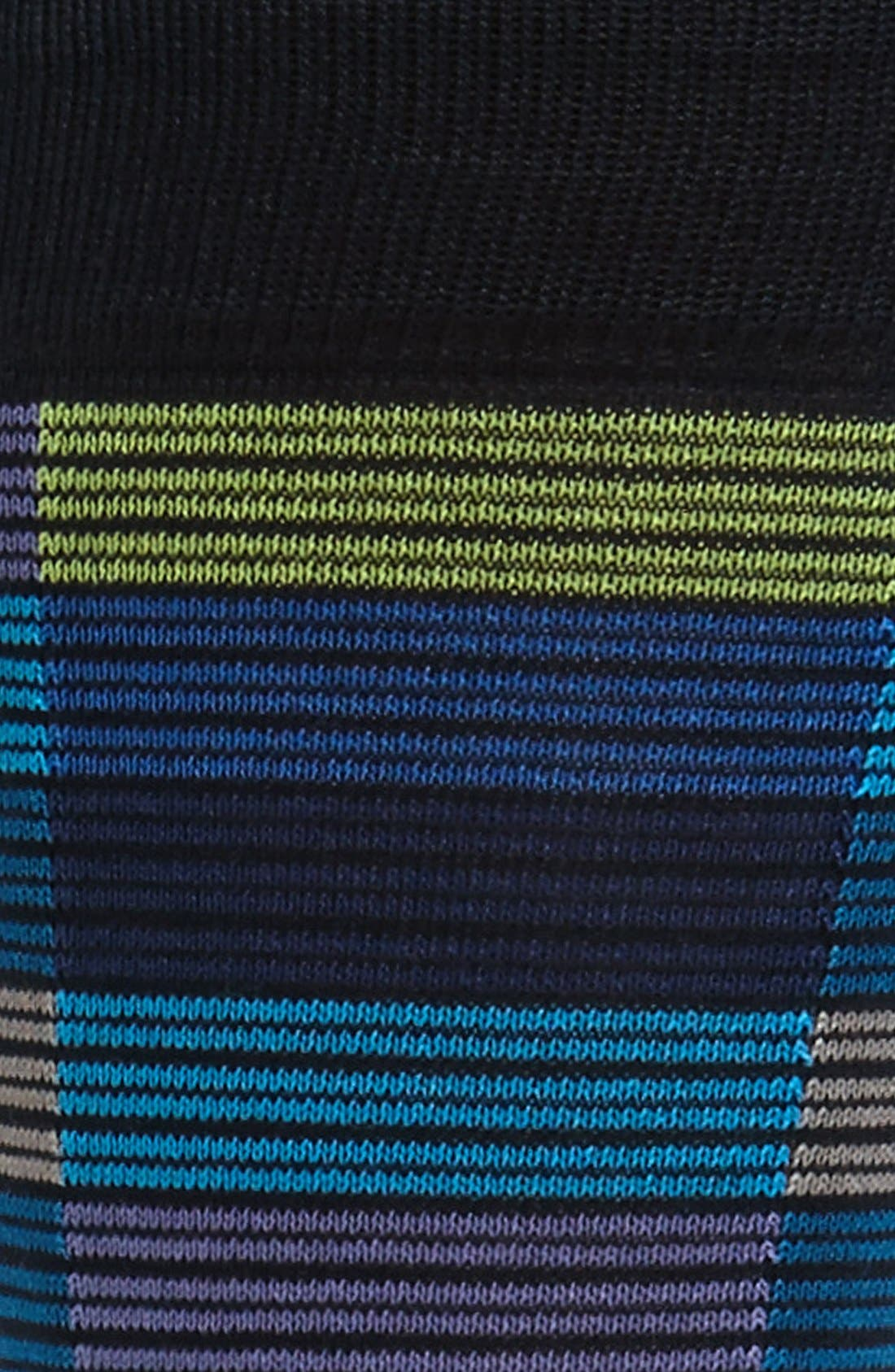 Alternate Image 2  - Bugatchi Stripe Socks