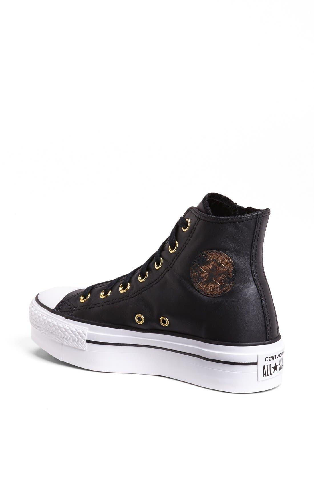 Alternate Image 2  - Converse High Top Platform Sneaker (Women)
