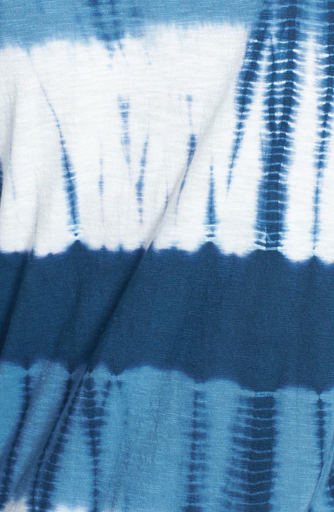 Alternate Image 3  - Lucky Brand Watercolor Stripe Tee