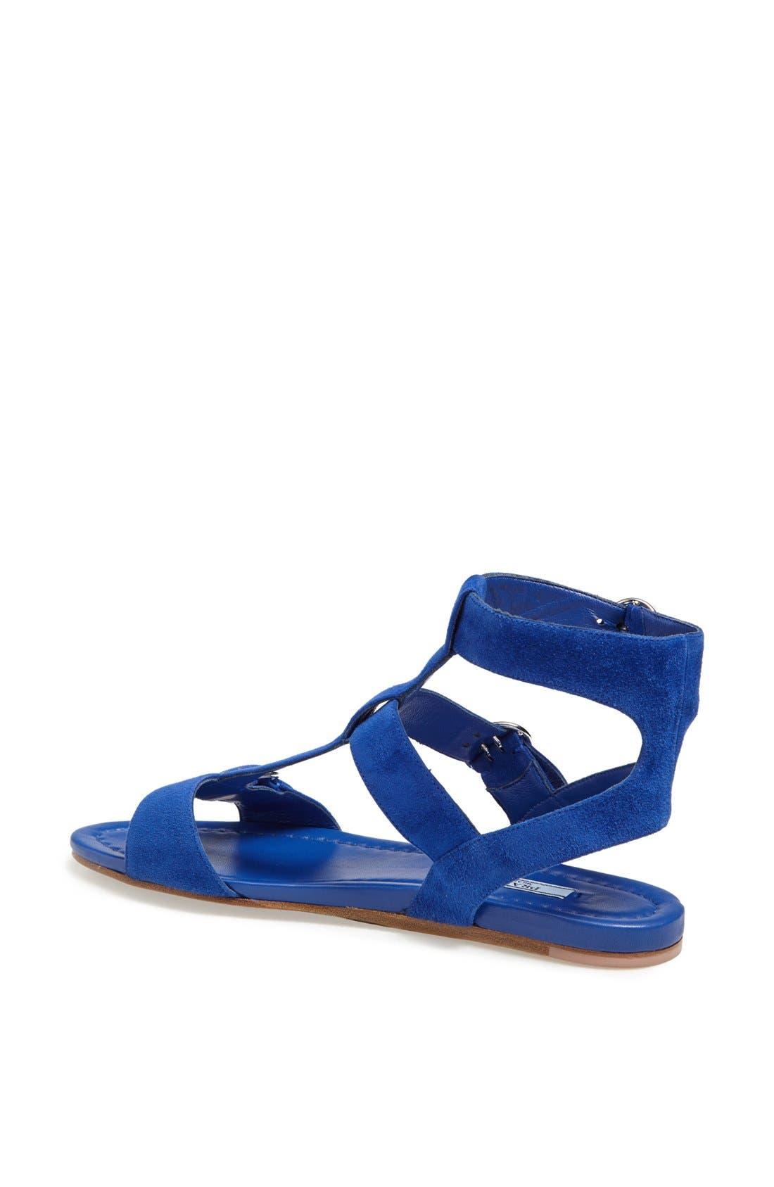 Alternate Image 2  - Prada Triple Buckle Gladiator Sandal