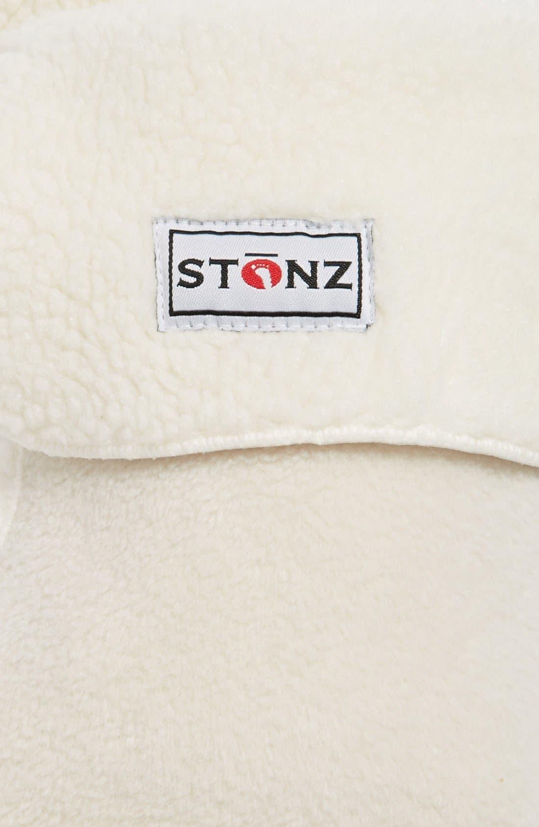Alternate Image 2  - Stonz 'Linerz' Fleece Bootie Liners (Baby & Walker)