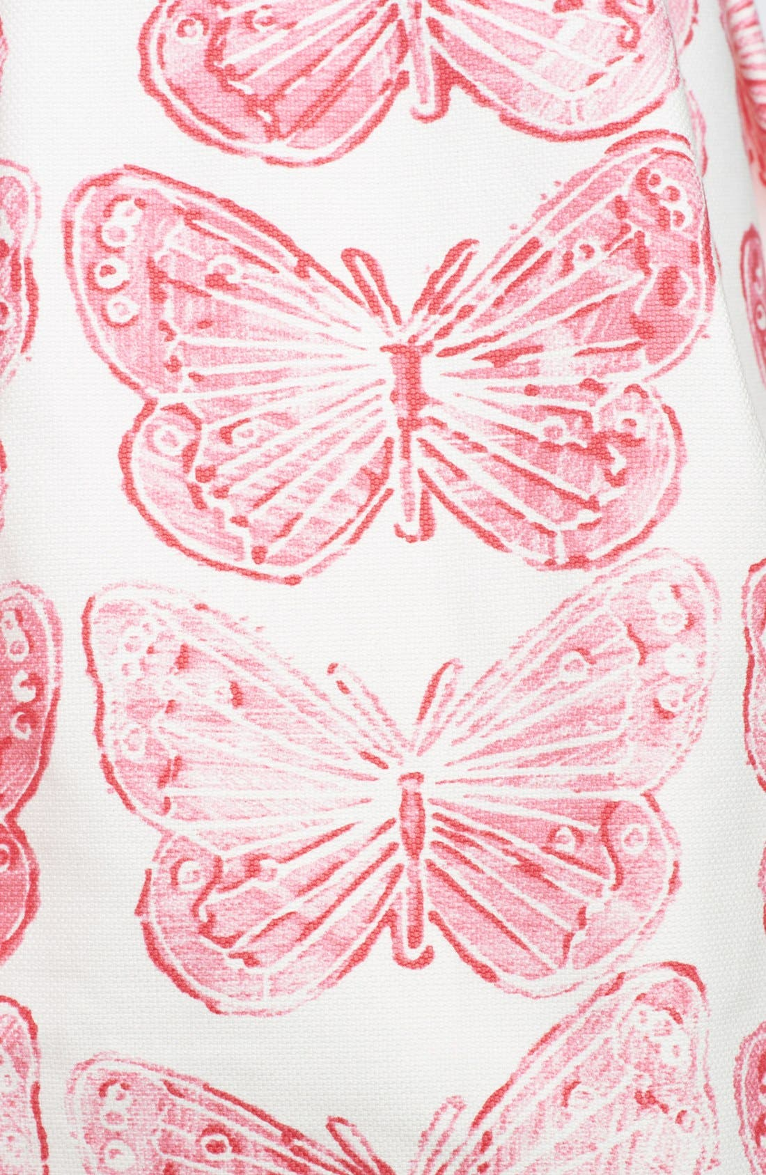 Alternate Image 5  - RED Valentino Butterfly Print Cotton Blouse