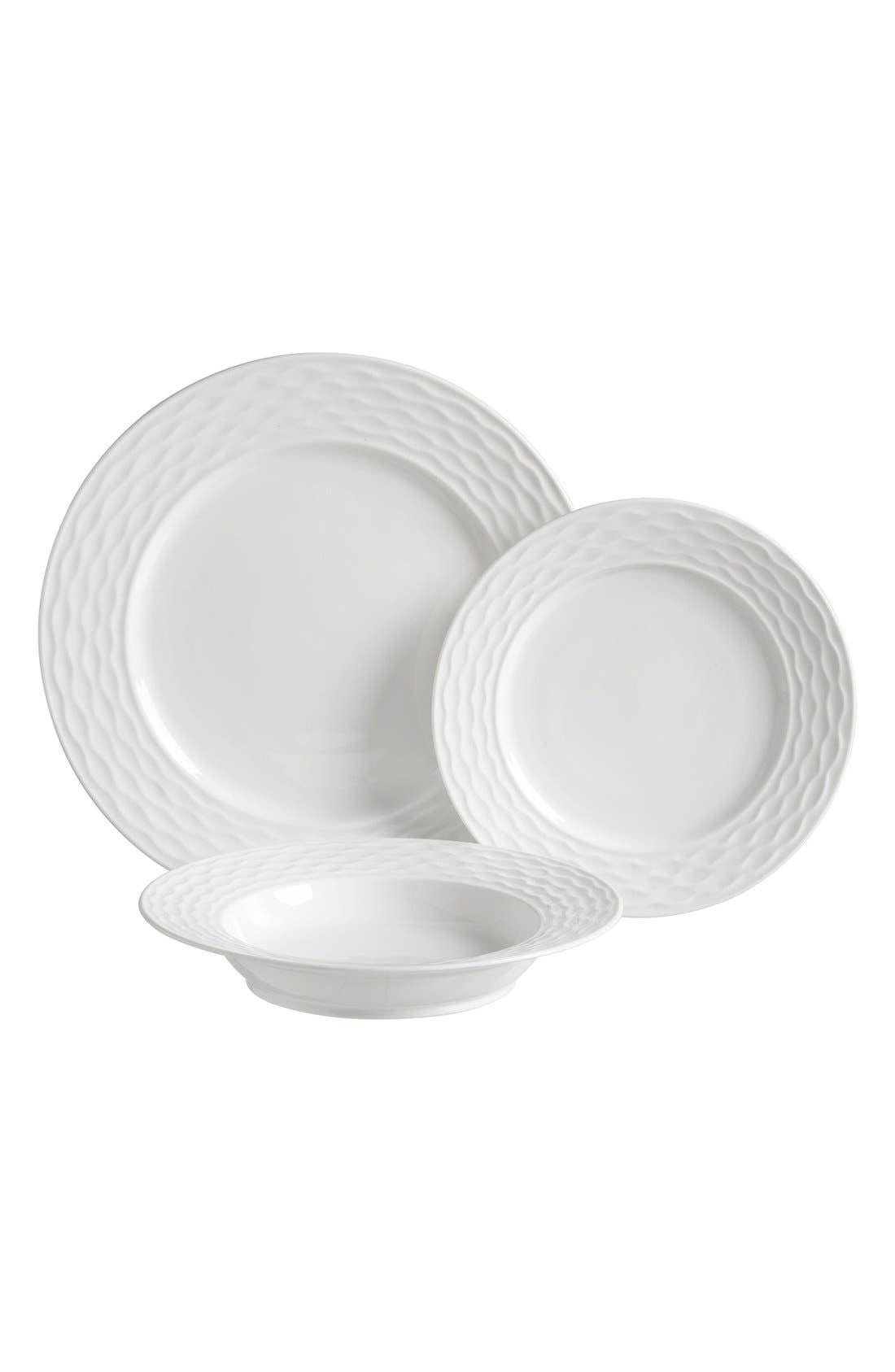 Alternate Image 1 Selected - Luigi Bormioli Porcelain Dinnerware (12-Piece Set)