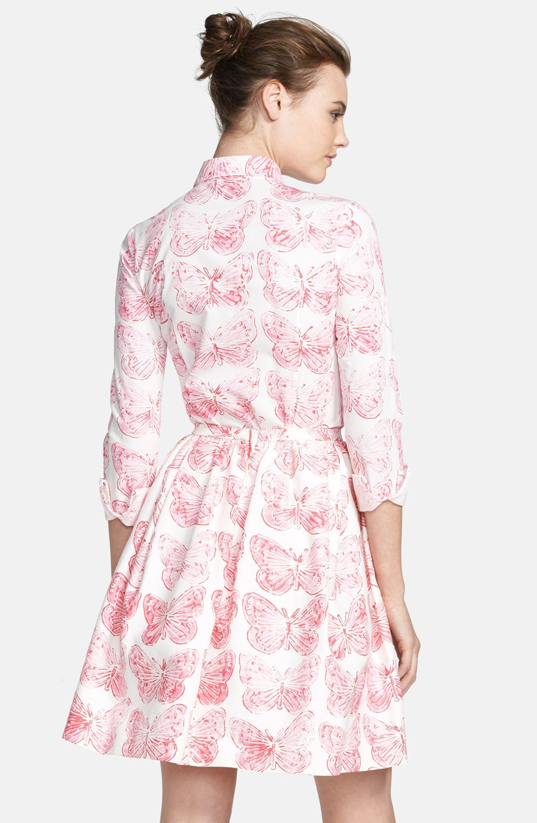 Alternate Image 2  - RED Valentino Butterfly Print Cotton Blouse