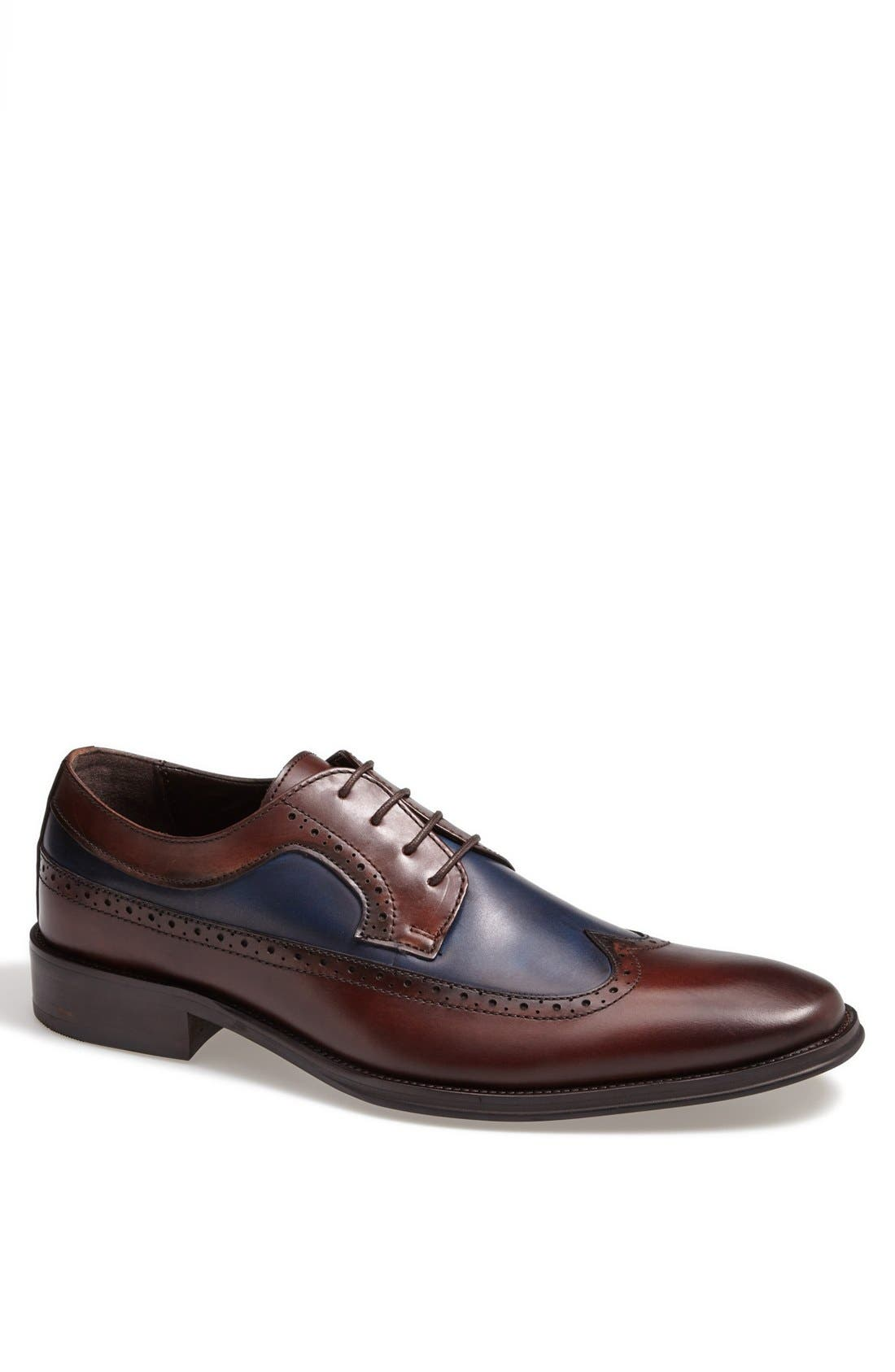 Alternate Image 1 Selected - ALDO 'Frankfort' Longwing Spectator Shoe (Men)