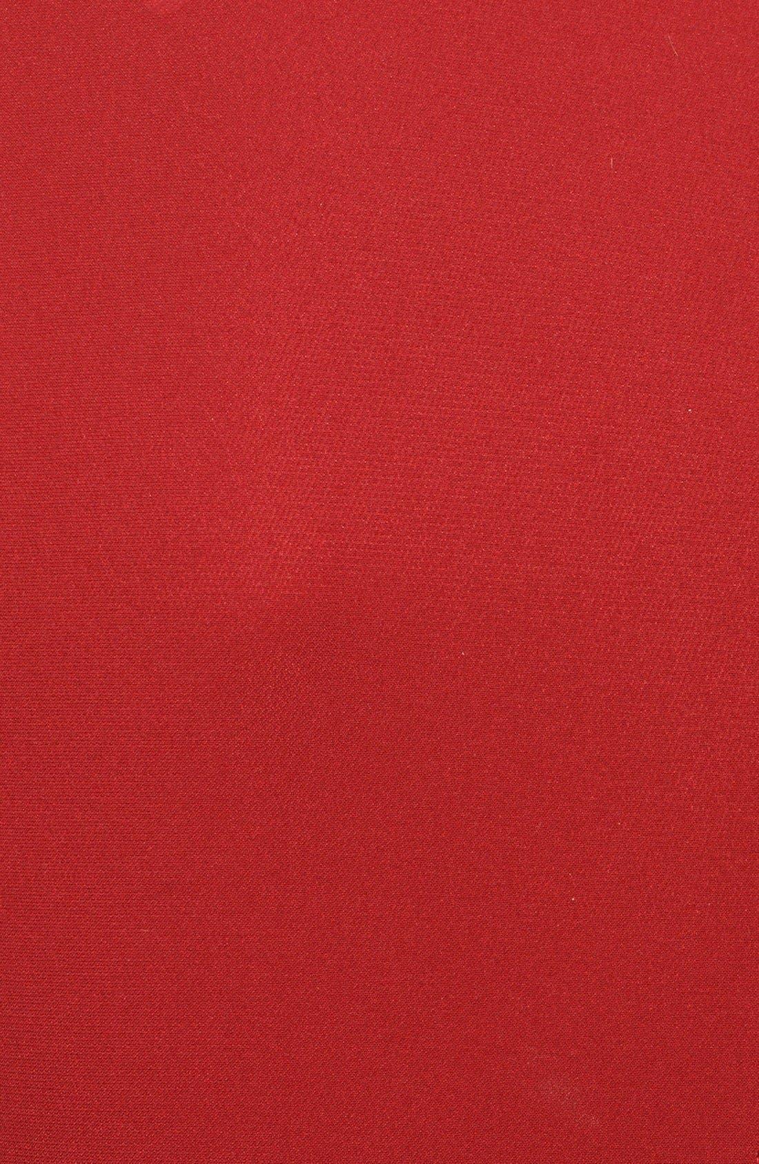 Alternate Image 3  - Burberry London Drape Front Mulberry Silk Dress