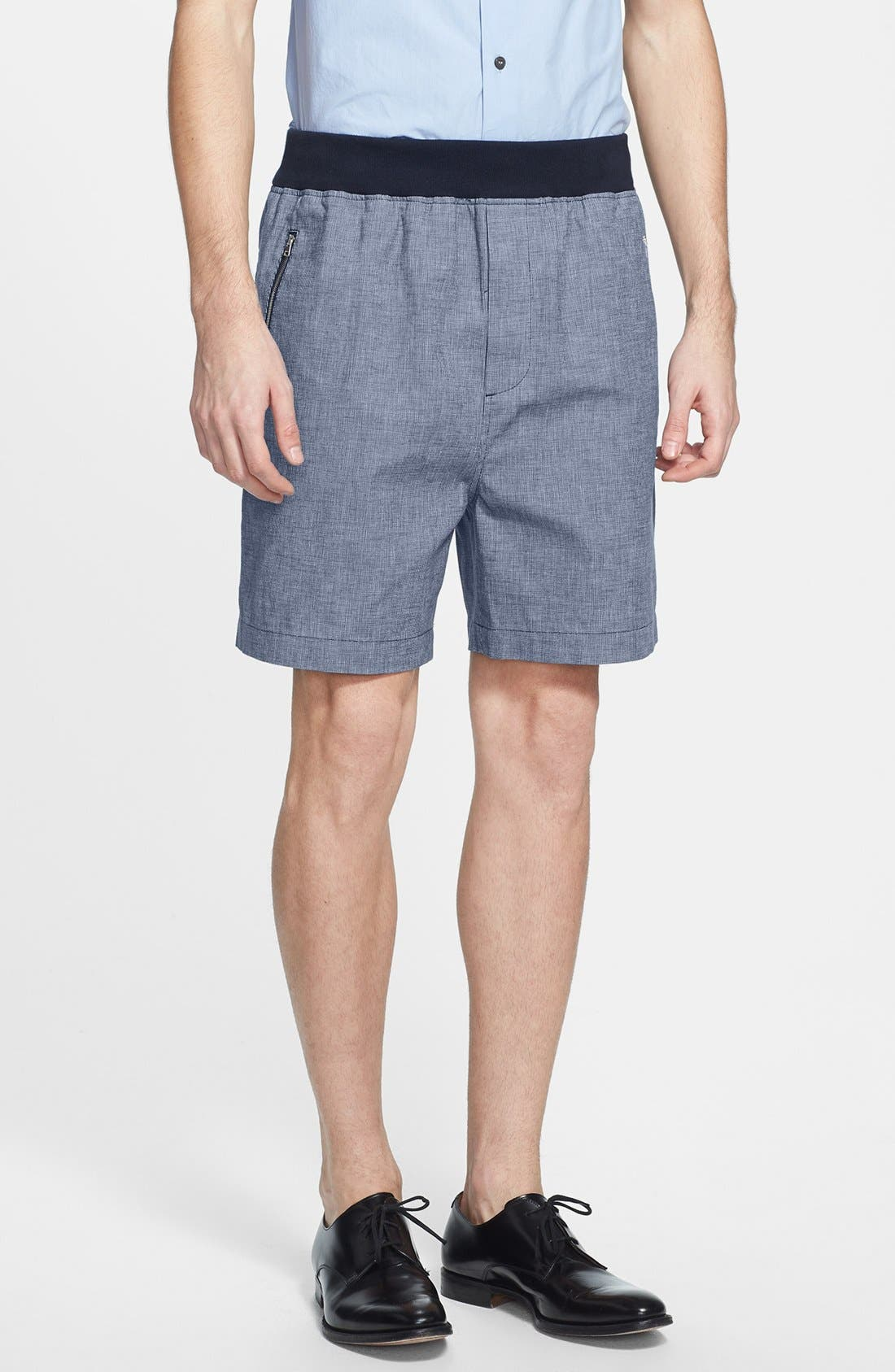 Main Image - Marni Microweave Shorts with Knit Waist