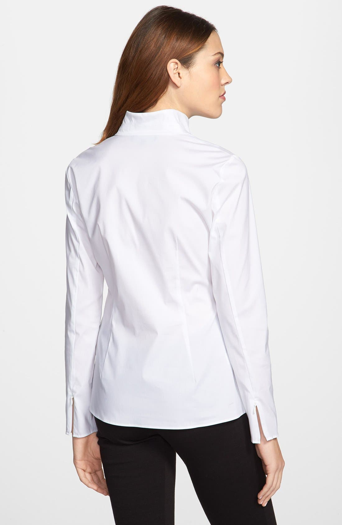 Alternate Image 2  - Lafayette 148 New York 'Crystal' Blouse