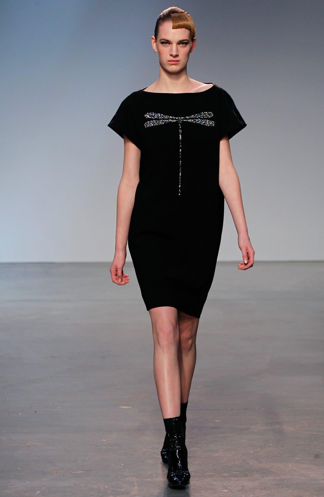 Alternate Image 4  - Thakoon Dragonfly Leather Back Dress