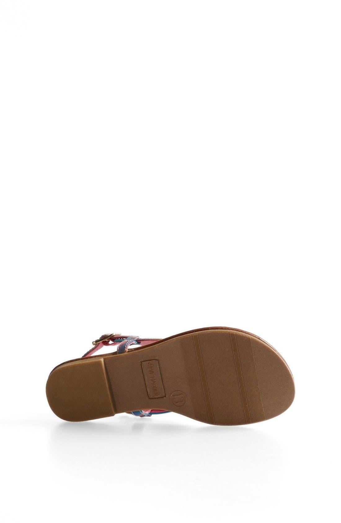 Alternate Image 4  - Steve Madden 'Bizee' Sandal (Toddler, Little Kid & Big Kid)