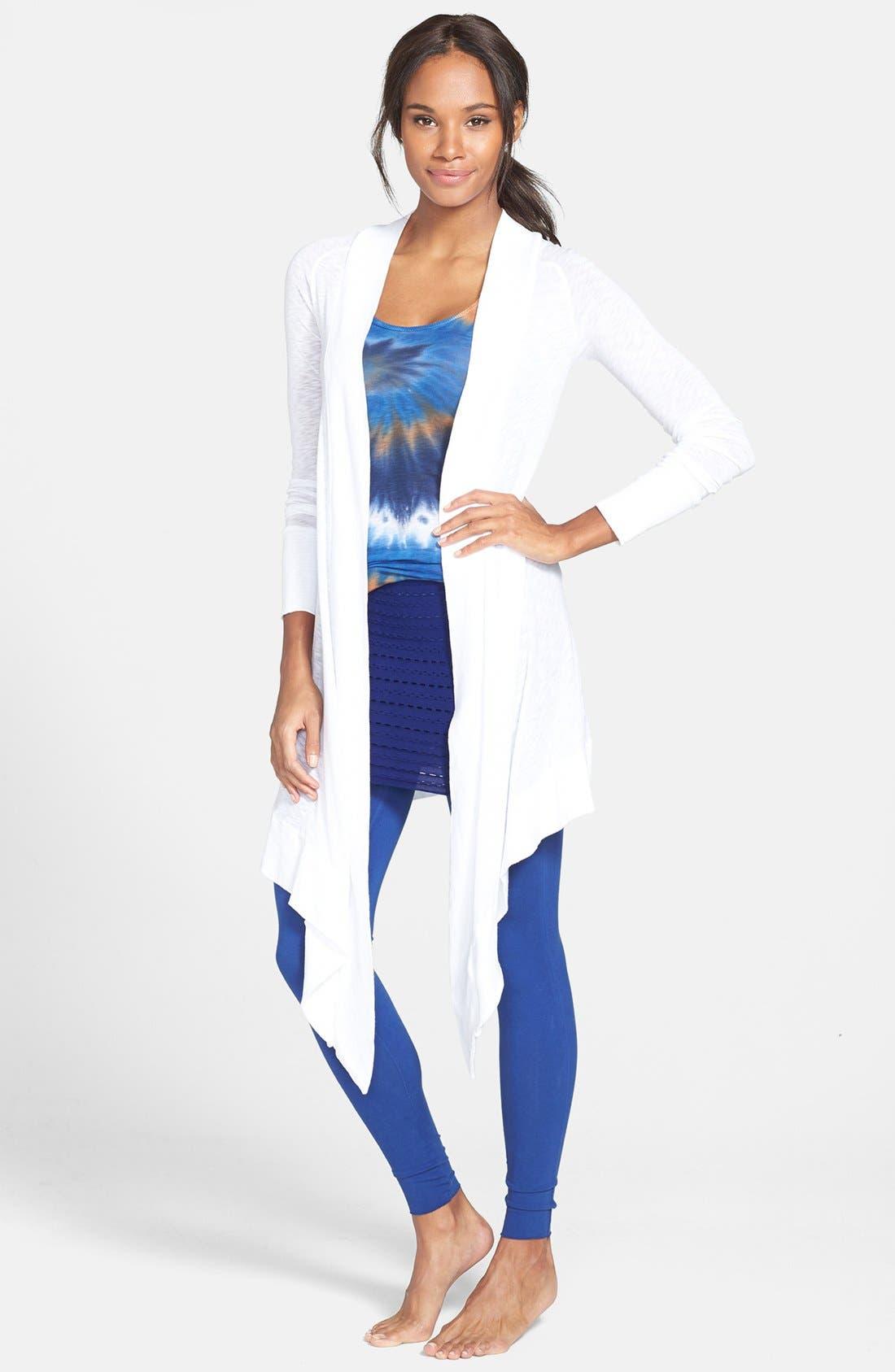 Alternate Image 1 Selected - Omgirl 'Divine' Pima Cotton Cardigan