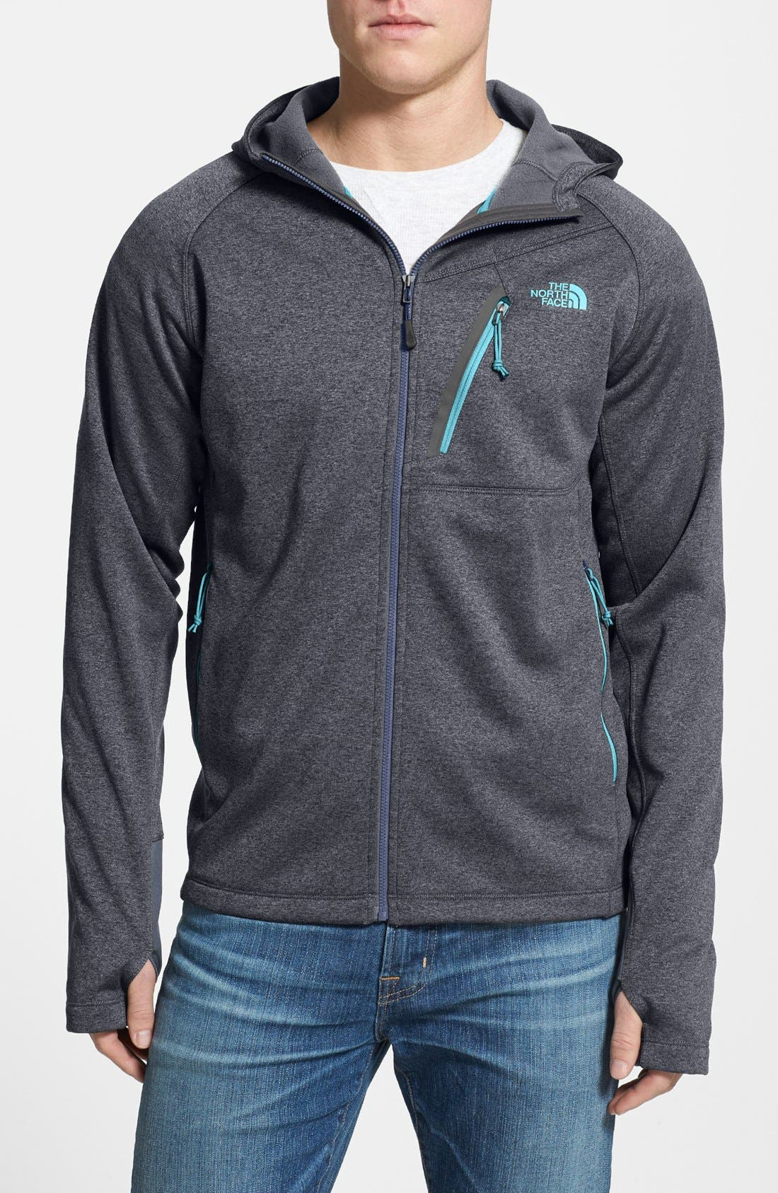 Alternate Image 1 Selected - The North Face 'Canyonlands' Full Zip Hoodie