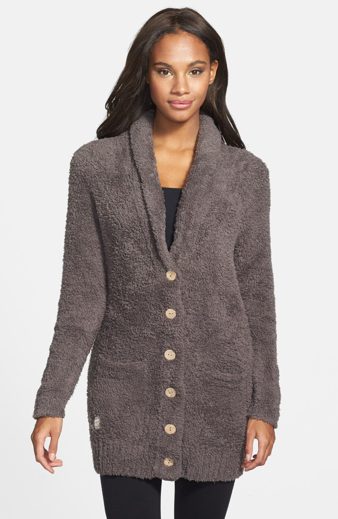 Main Image - Barefoot Dreams® Relaxed Fit CozyChic® Cardigan