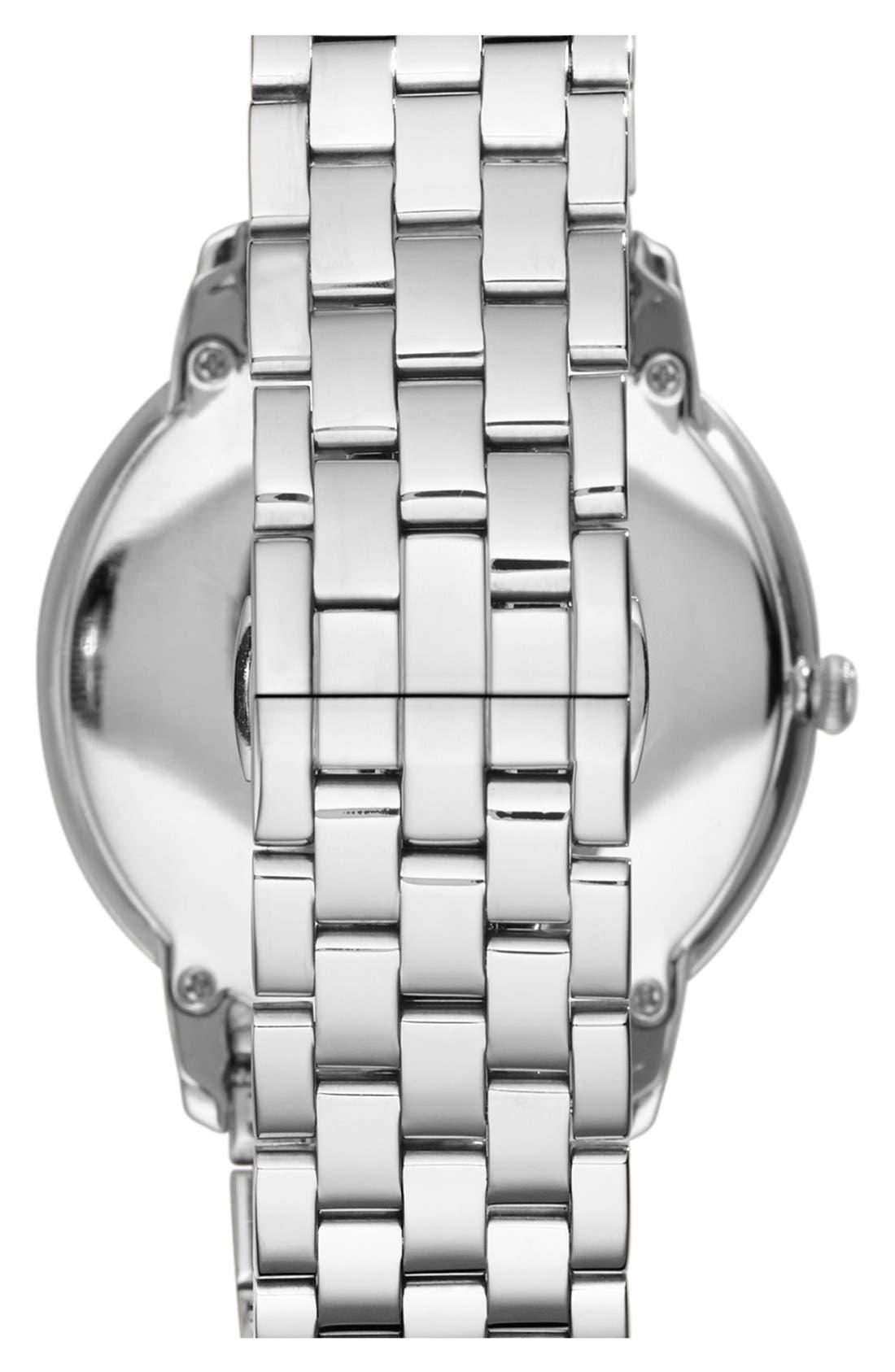 Alternate Image 2  - Emporio Armani Round Bracelet Watch, 42mm
