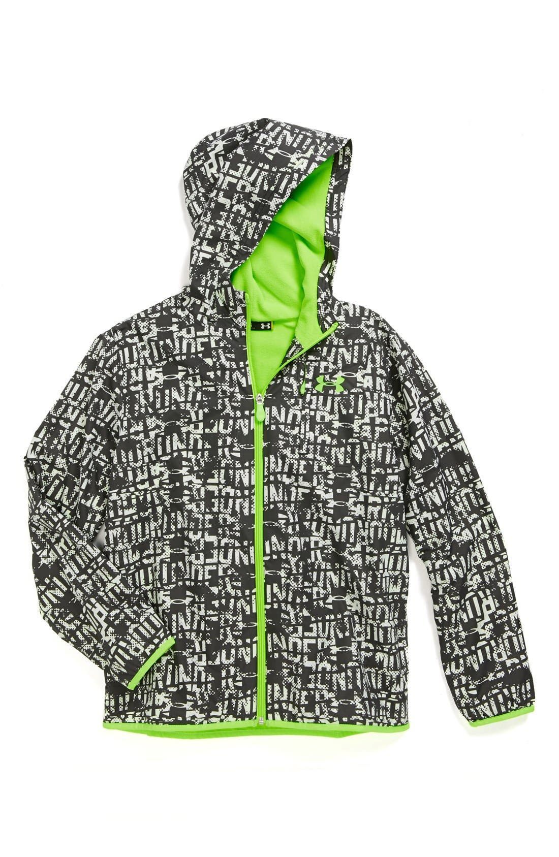 Alternate Image 1 Selected - Under Armour 'Captivate' Jacket (Big Boys)