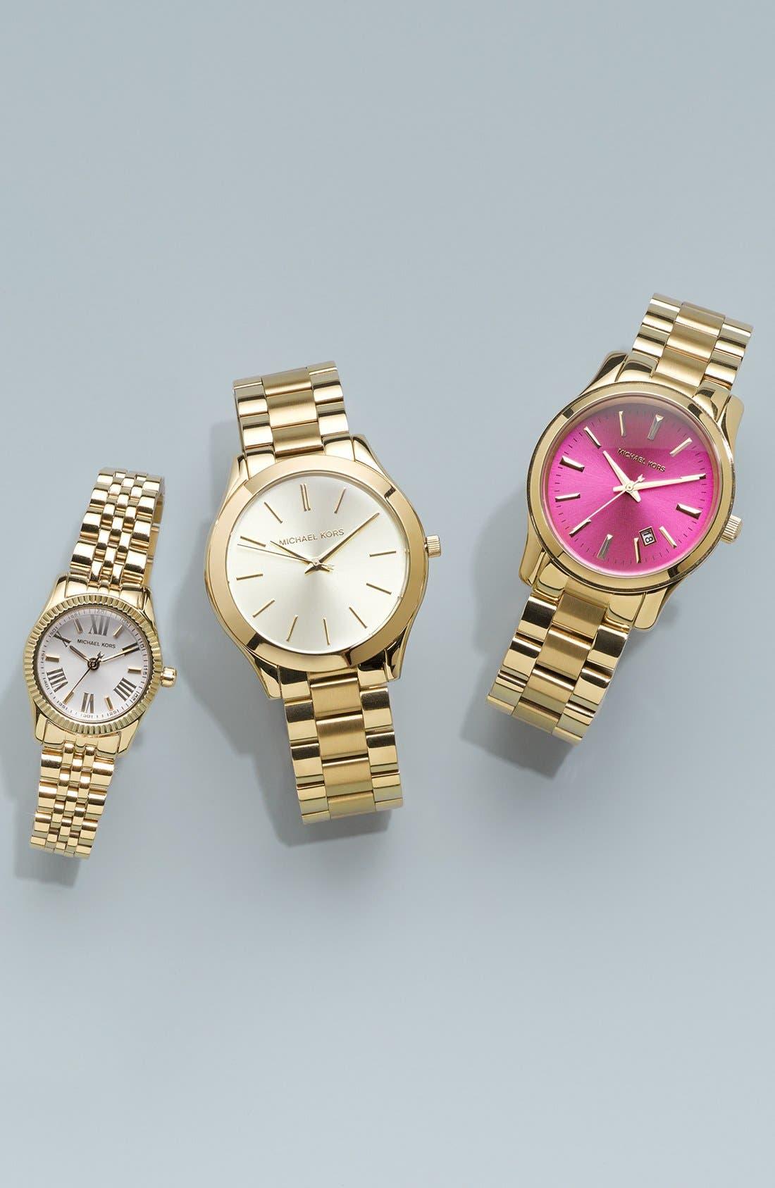 Alternate Image 5  - Michael Kors 'Petite Lexington' Bracelet Watch, 26mm