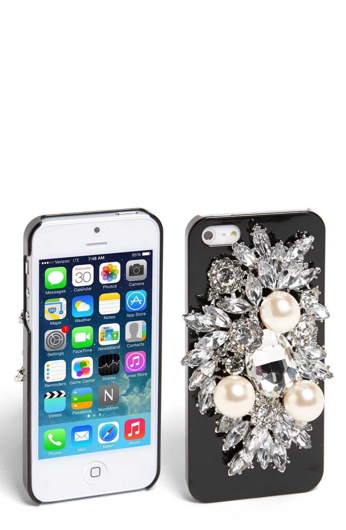 Alternate Image 1 Selected - Natasha Couture 'Be Dazzled' iPhone 5 Case