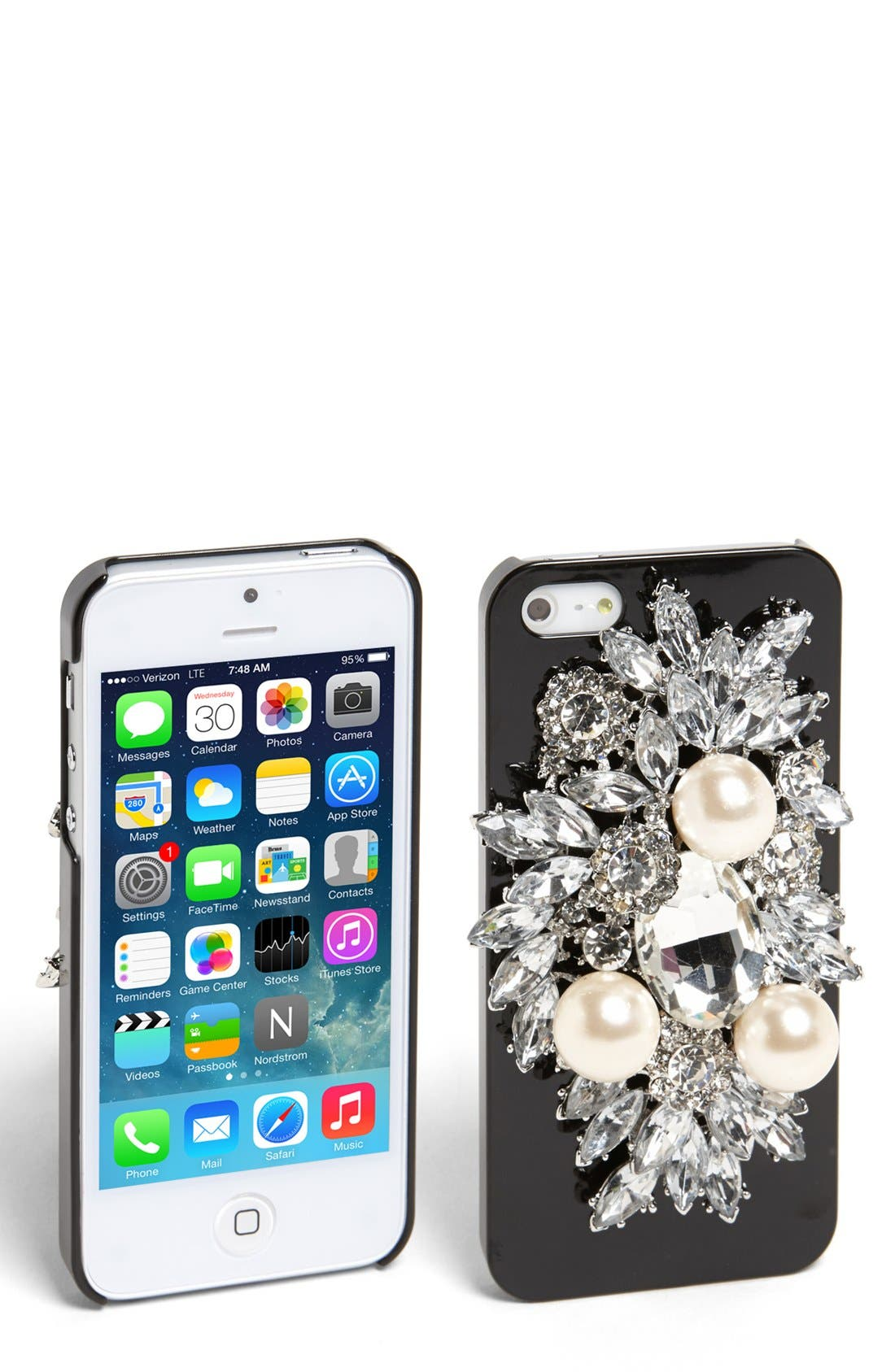 Main Image - Natasha Couture 'Be Dazzled' iPhone 5 Case