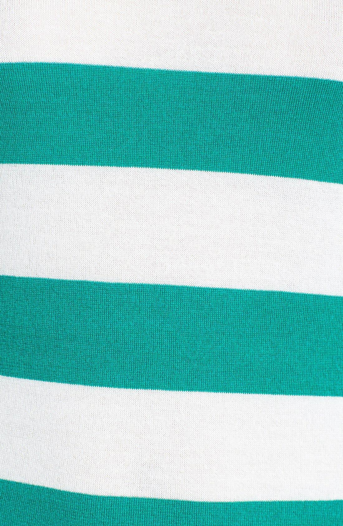 Alternate Image 3  - Equipment 'Violet' Stripe Cashmere Blend Sweater