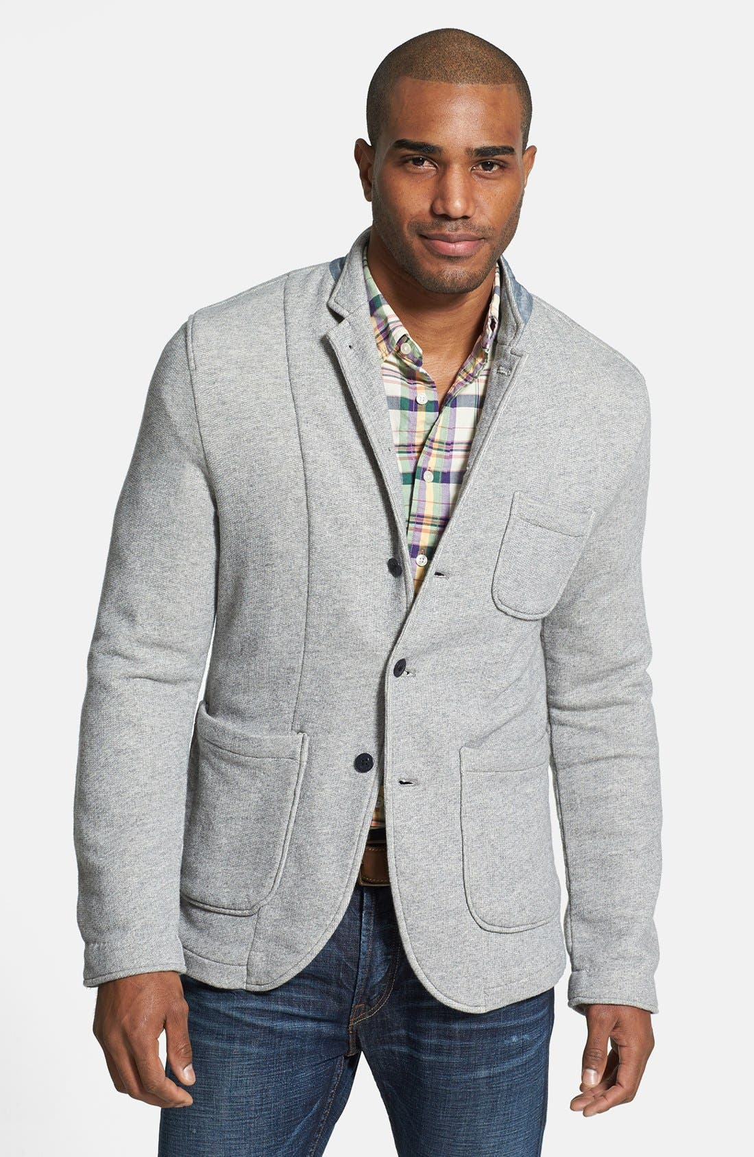 Alternate Image 1 Selected - Grayers Trim Fit Knit Sport Coat