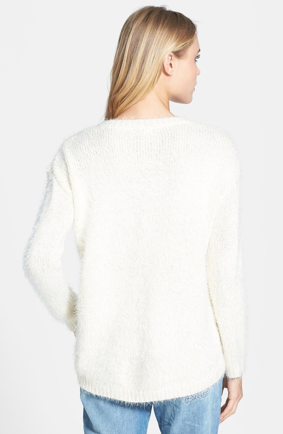 Alternate Image 2  - Topshop 'Monster Stitch' Textured Knit Sweater