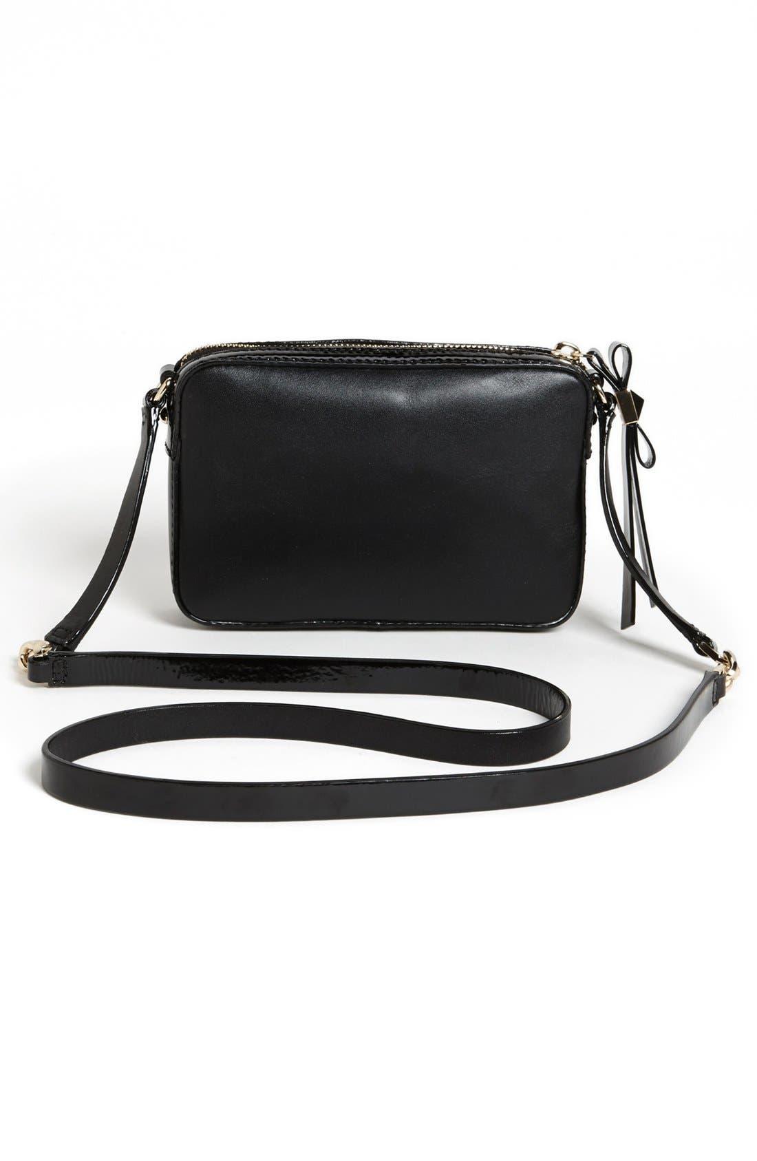 Alternate Image 4  - kate spade new york 'clover' leather crossbody bag