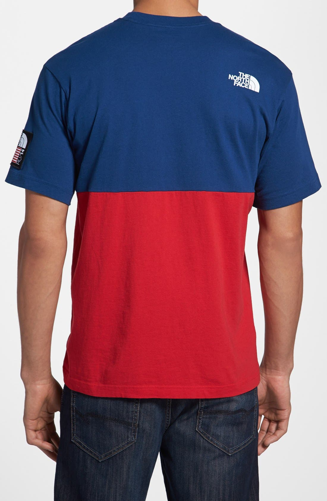 Alternate Image 2  - The North Face 'USA - International Collection' Screenprint Short Sleeve T-Shirt