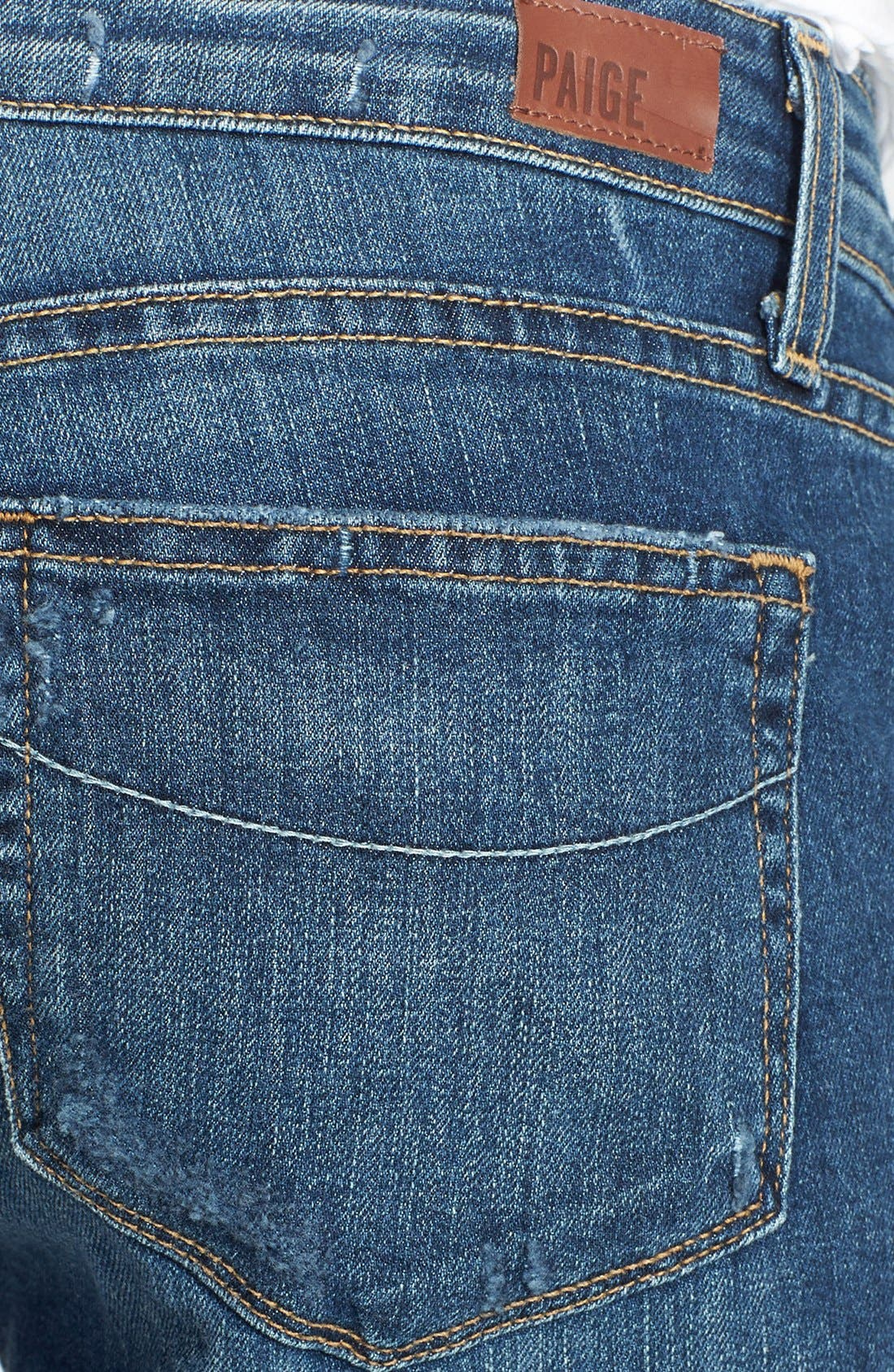 Alternate Image 3  - Paige Denim 'Jimmy Jimmy' Distressed Crop Jeans (Luca)