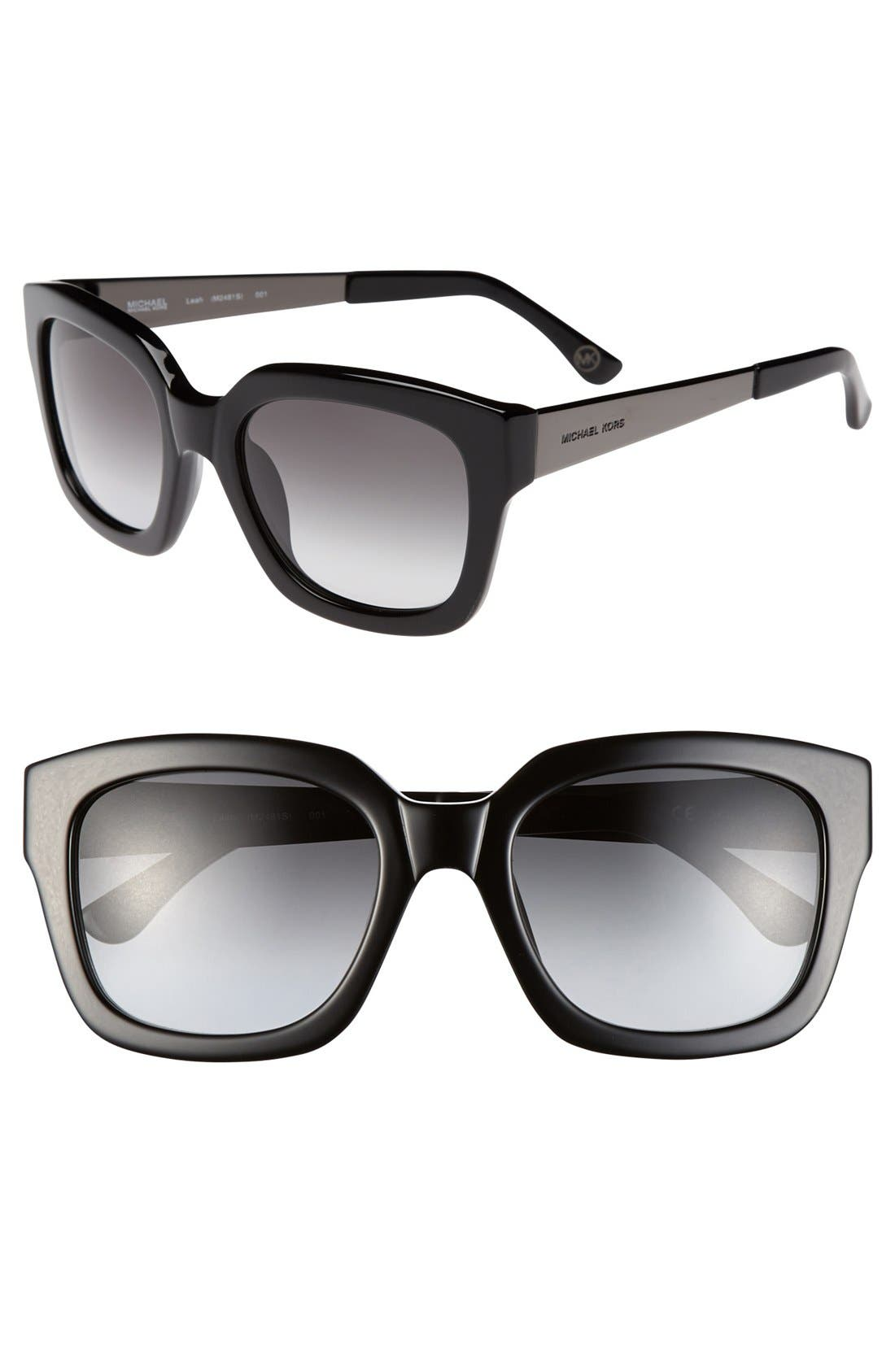 Alternate Image 1 Selected - MICHAEL Michael Kors 'Leah' 53mm Sunglasses