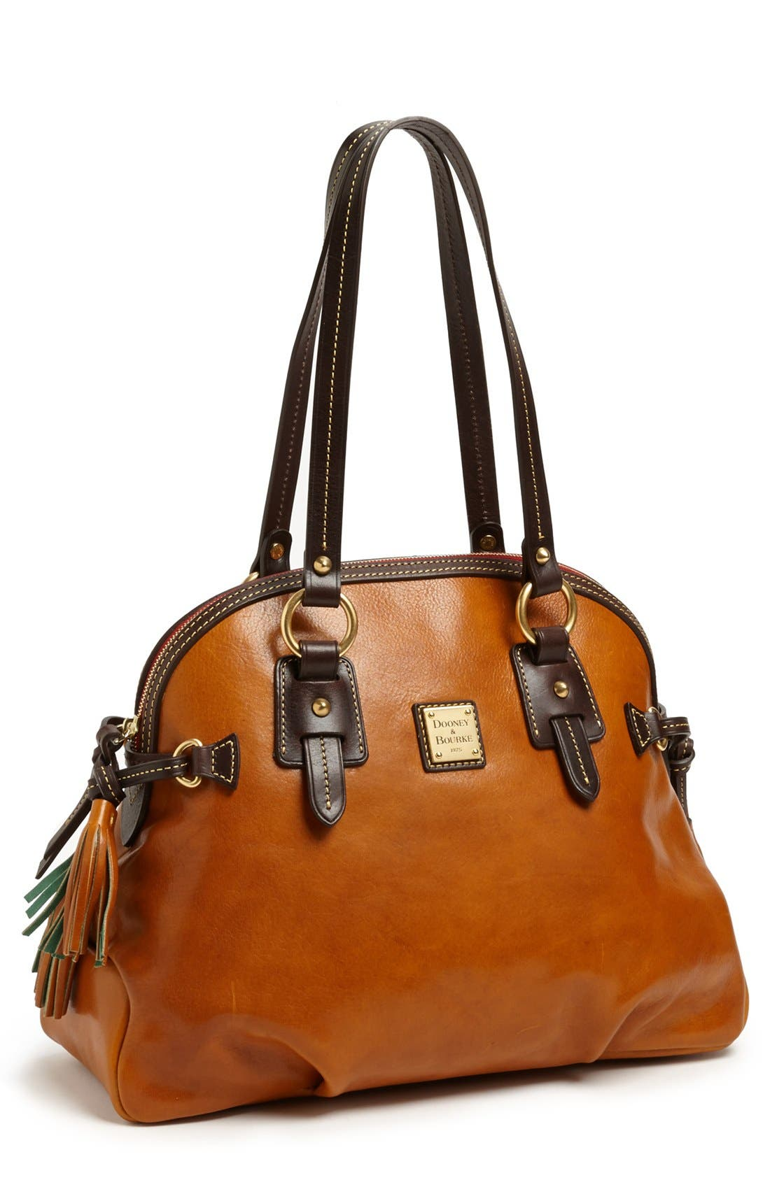 Alternate Image 1 Selected - Dooney & Bourke Leather Dome Satchel