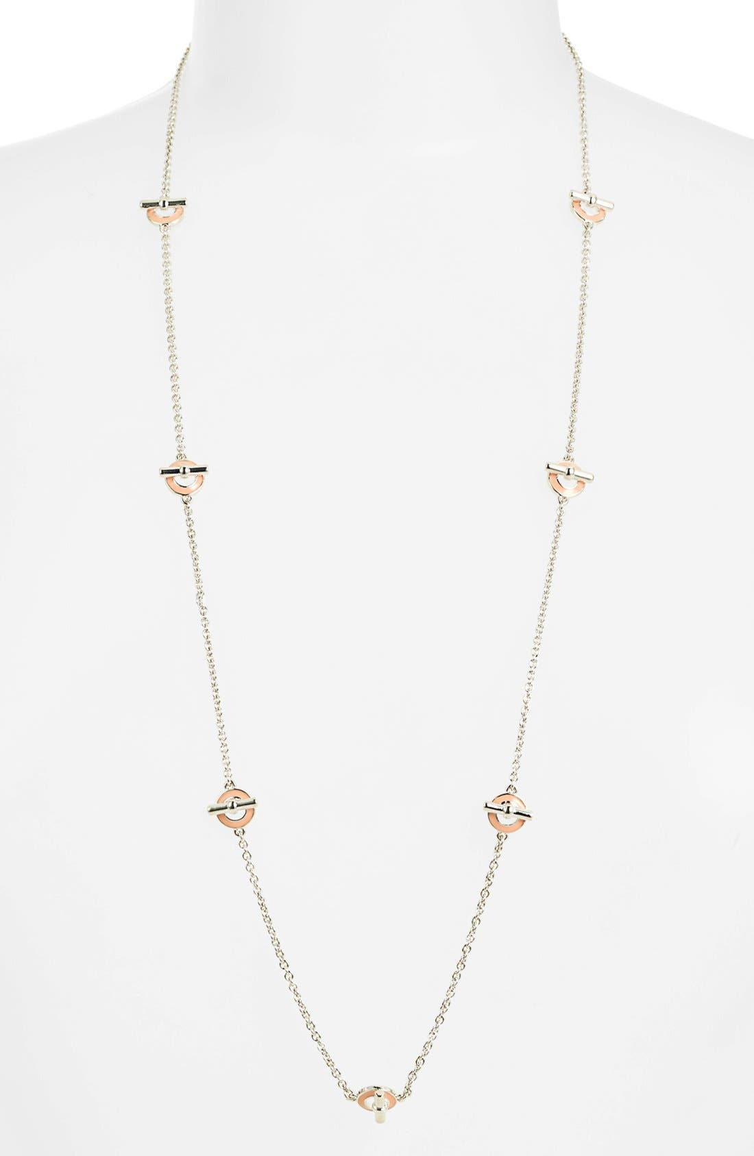 Main Image - MARC BY MARC JACOBS 'Toggles & Turnlocks' Toggle Station Necklace