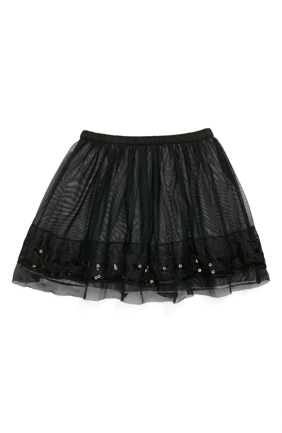 Alternate Image 1 Selected - Penny Candy 'Icicle' Skirt (Little Girls & Big Girls)