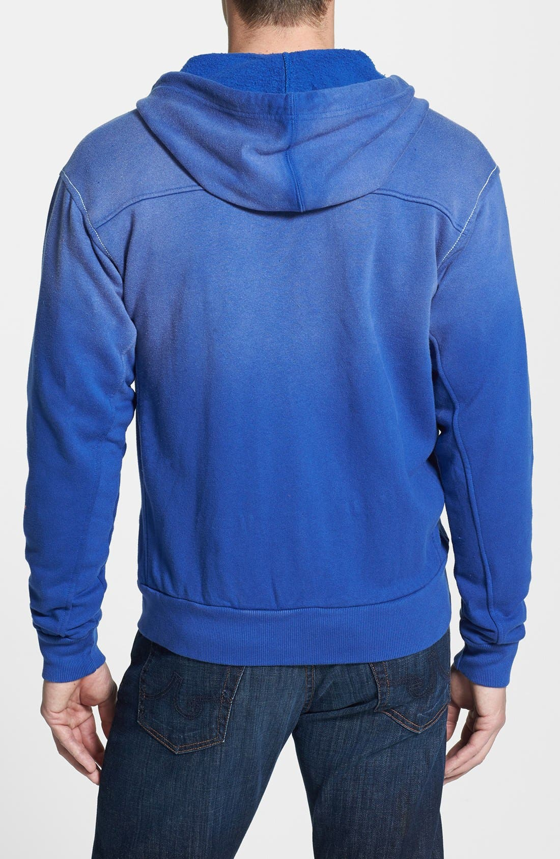 Alternate Image 2  - Red Jacket 'Toronto Maple Leafs - Buzz' Hoodie